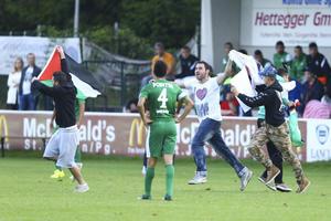 Le match Lille-Maccabi Haïfa écourté par une manifestation anti-Isra�l