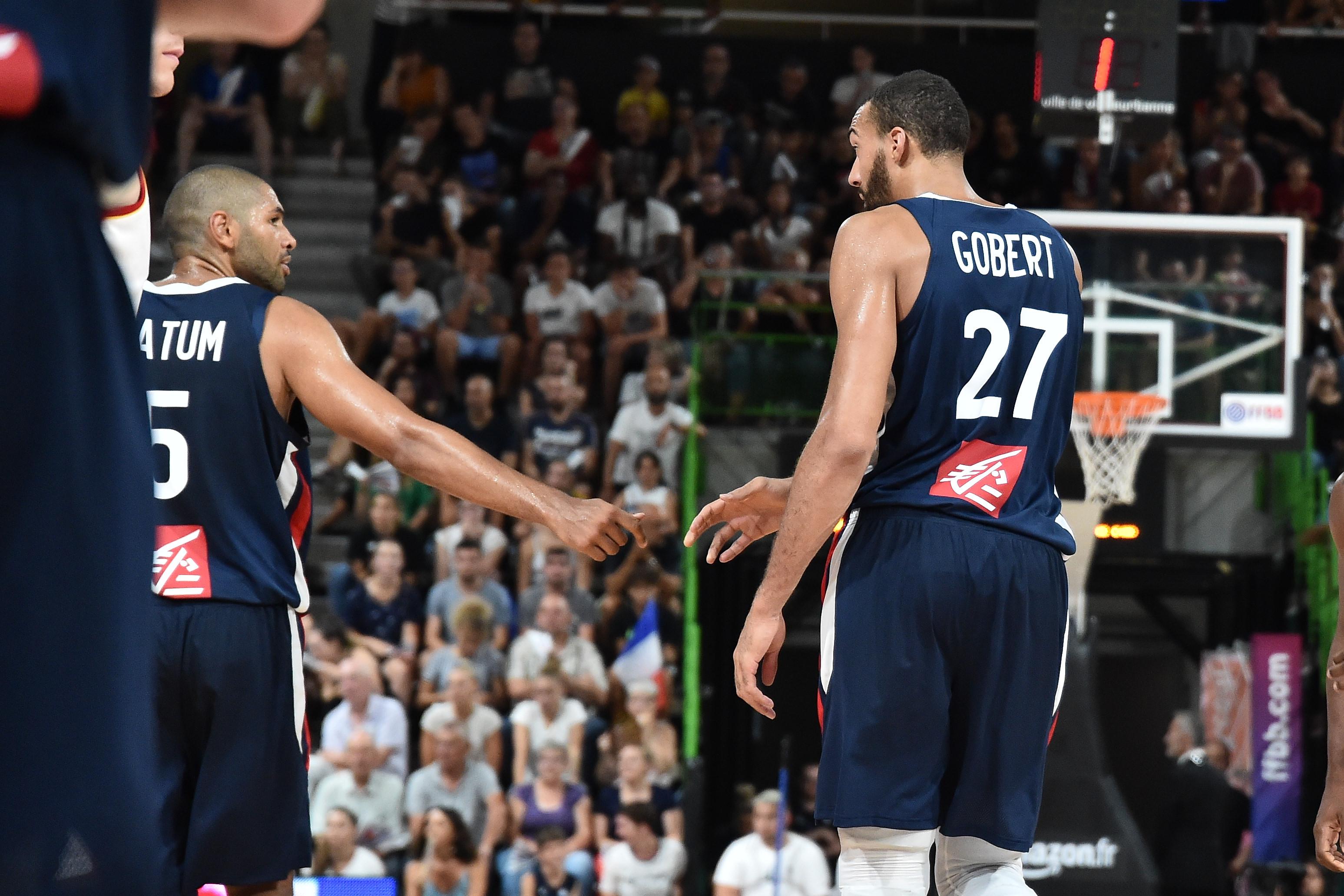 Basket - Equipe de France - Têtes de Bleus : les joueurs du groupe France en images