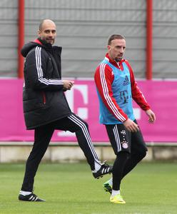 Ribéry Guardiola