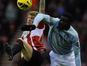 Sunderland-Man. City, James McClean - Kolo Touré
