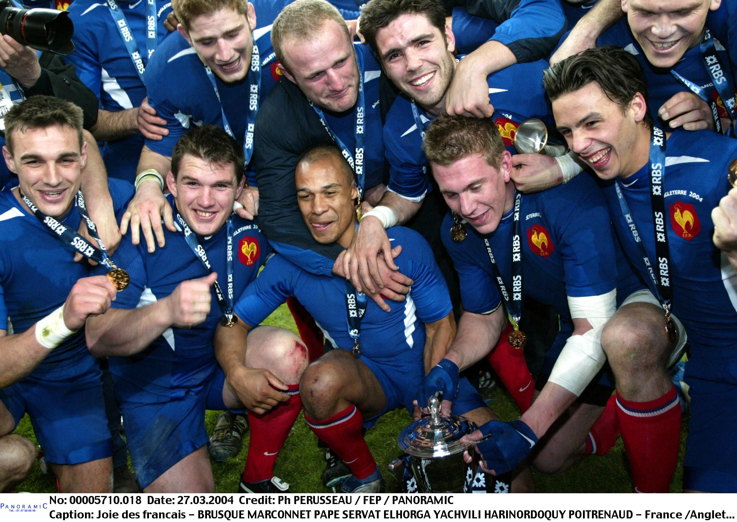 Rugby - 6 Nations - C'était un 27 mars : un Grand Chelem pour Yachvili et la France face aux Champions du monde