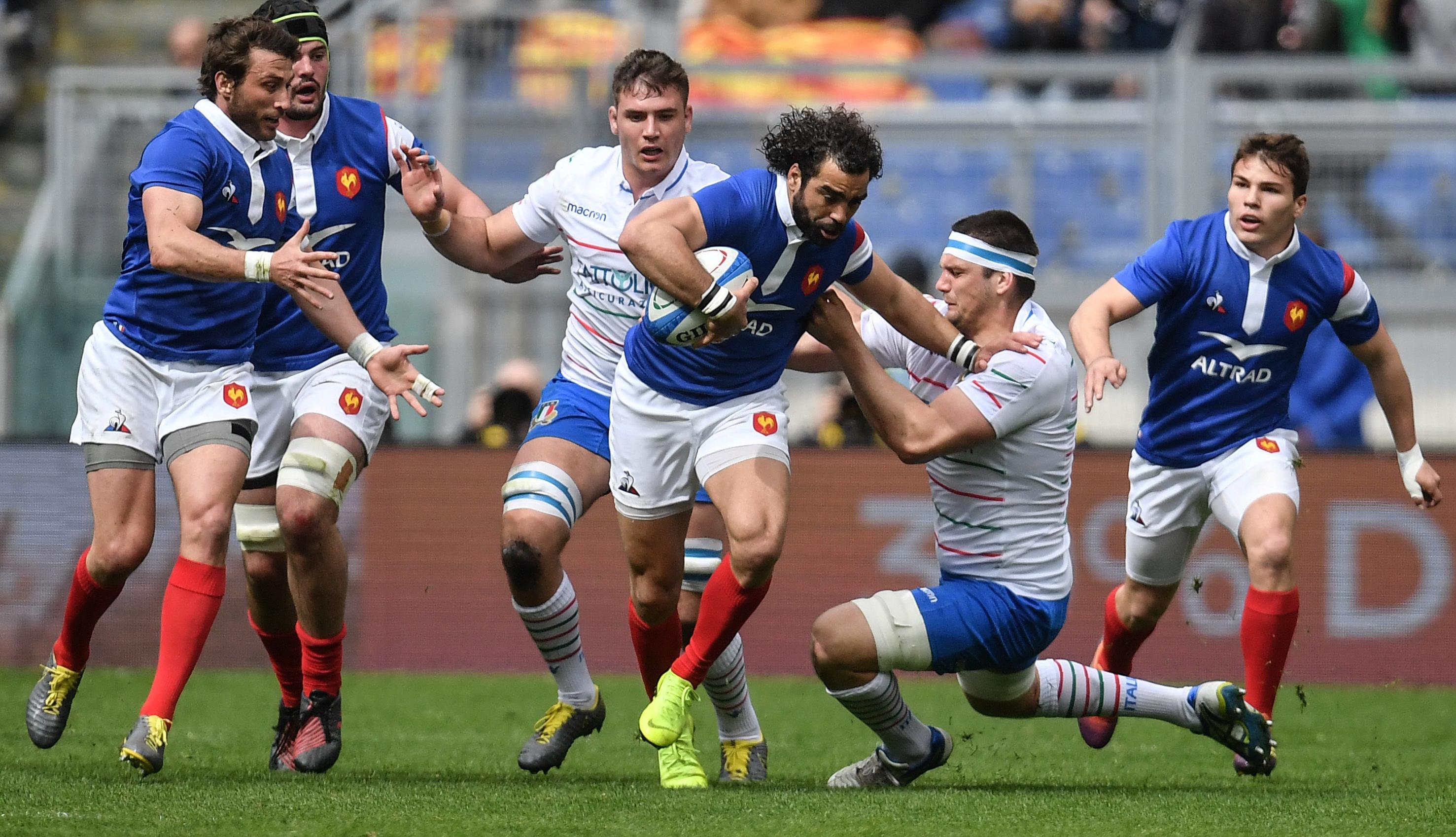 Rugby - 6 Nations - Carnet de notes des arrières français : Ntamack meilleur espoir, Parra et Lopez ont perdu gros