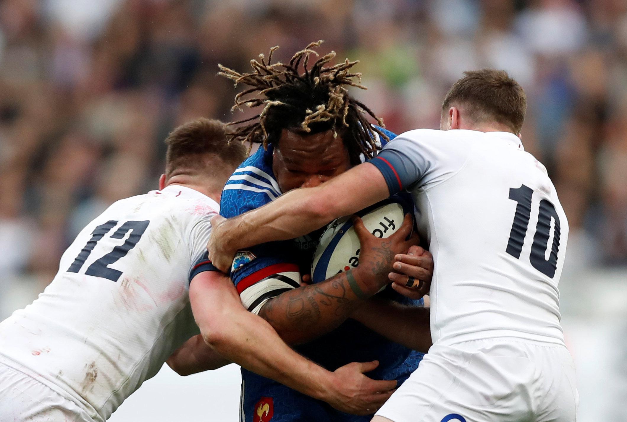 Rugby - 6 Nations - Le XV de France avec Bastareaud pour défier l'Angleterre