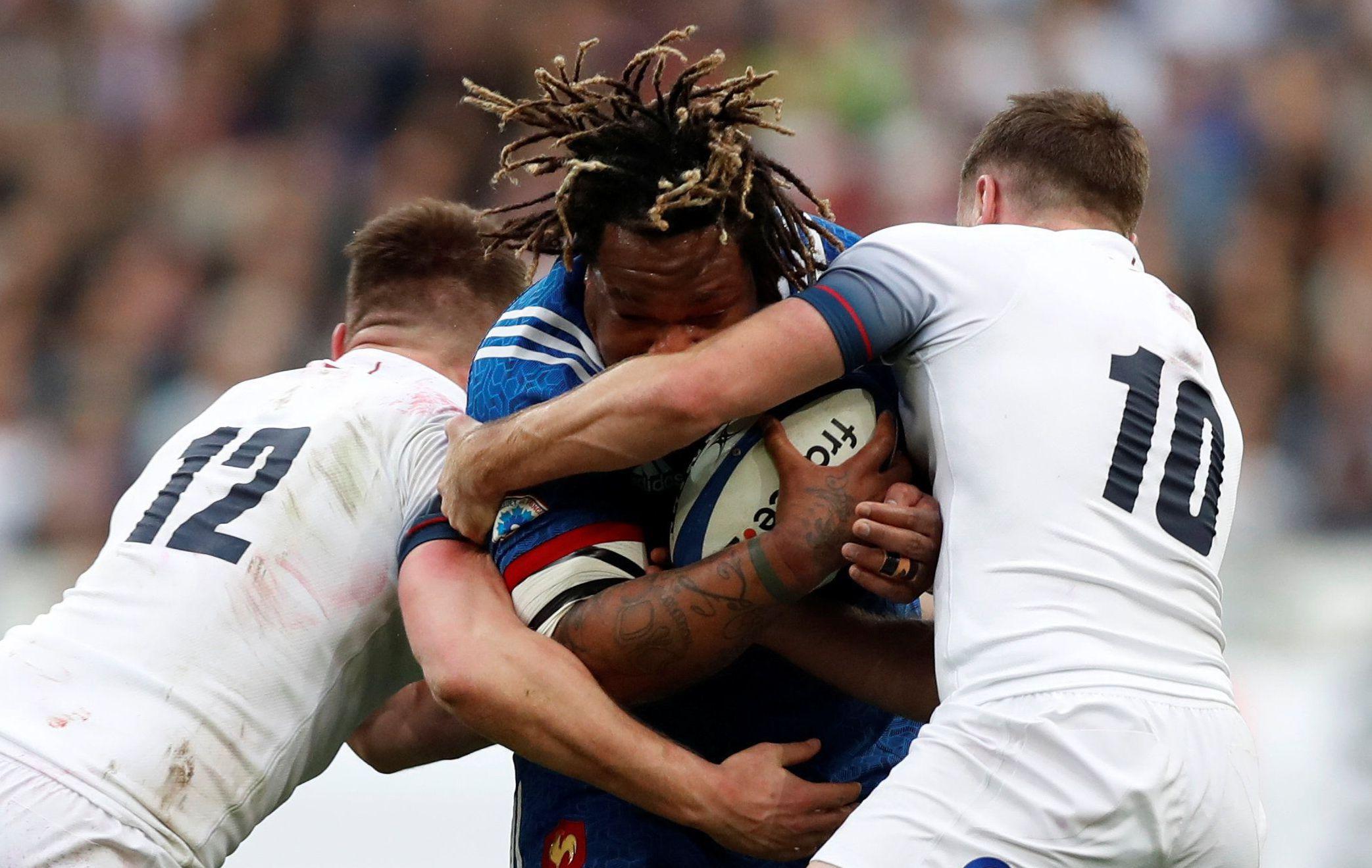 Rugby - 6 Nations - Les notes des Bleus face à l'Angleterre : Bastareaud phénoménal, Trinh-Duc retrouvé