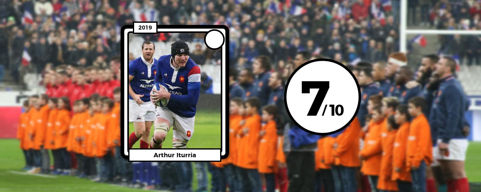 Rugby - 6 Nations - Les notes des Bleus : l'omniprésent Iturria, les absences de Vahaamahina et Huget