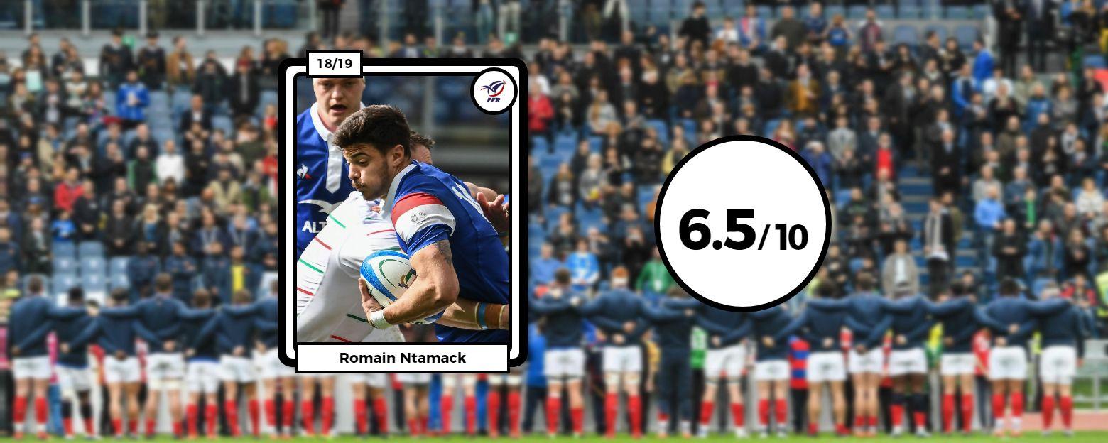 Rugby - 6 Nations - Les notes des Bleus : Ntamack et Penaud brillants, Chat rate son entrée