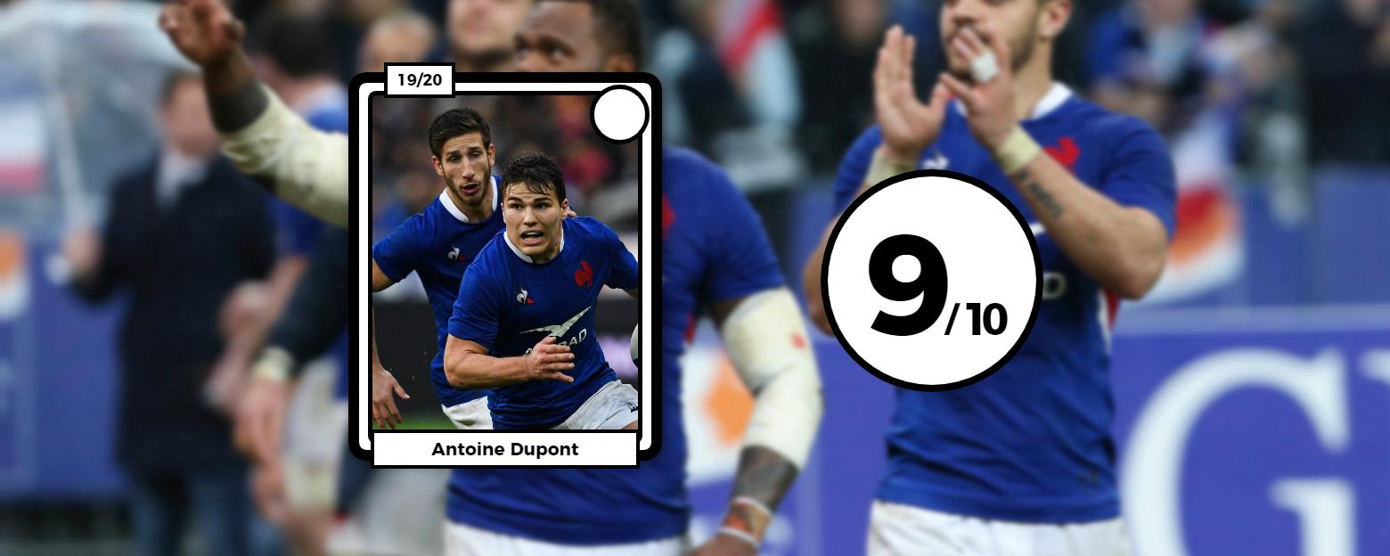 Rugby - 6 Nations - Les notes du XV de France : Le Roux et Alldritt en férocité, Dupont en patron