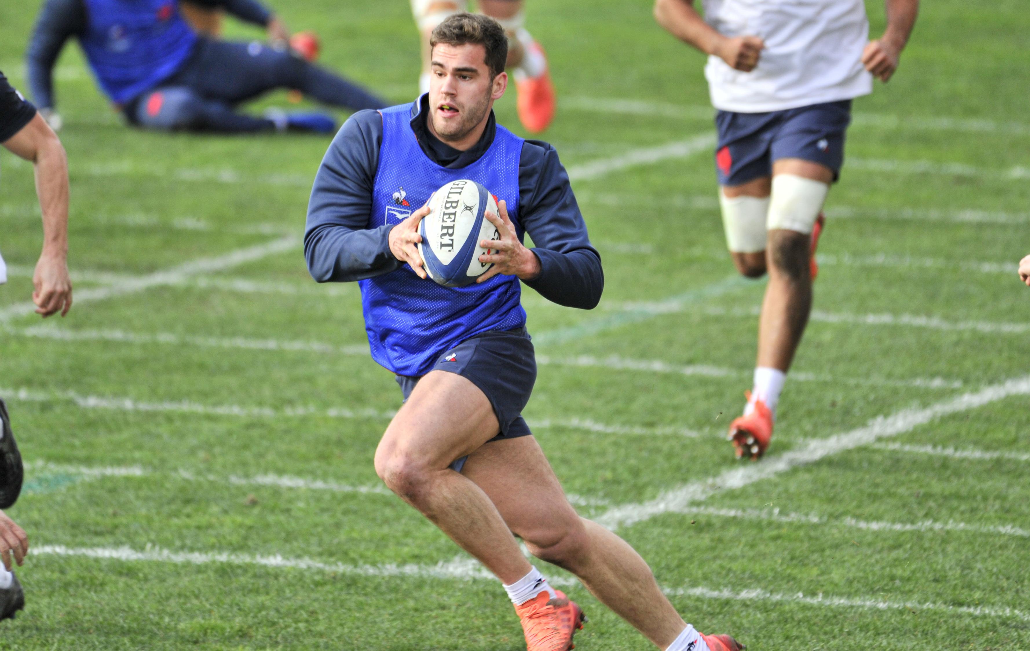 Rugby - 6 Nations - XV de France : avec Penaud et Poirot face aux Ecossais