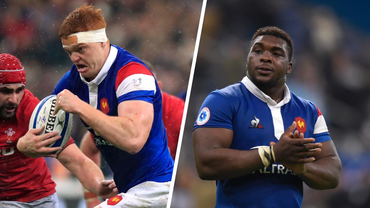 Rugby - 6 Nations - XV de France : Lambey et Bamba, baptêmes de feu à Twickenham