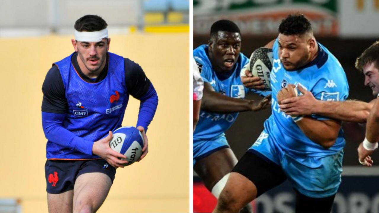 Rugby - 6 Nations - XV de France : les surprises Bouthier et Houas face à l'Angleterre