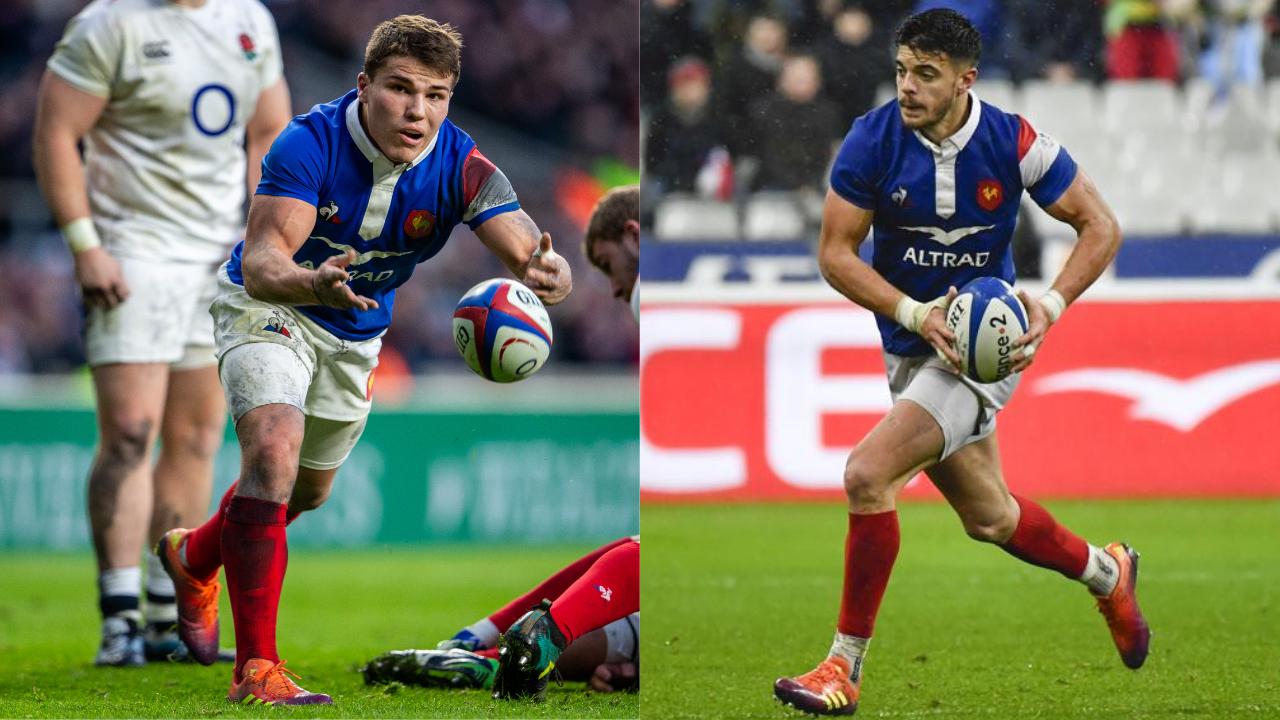 Rugby - 6 Nations - XV de France : vers une paire Dupont-Ntamack à la charnière
