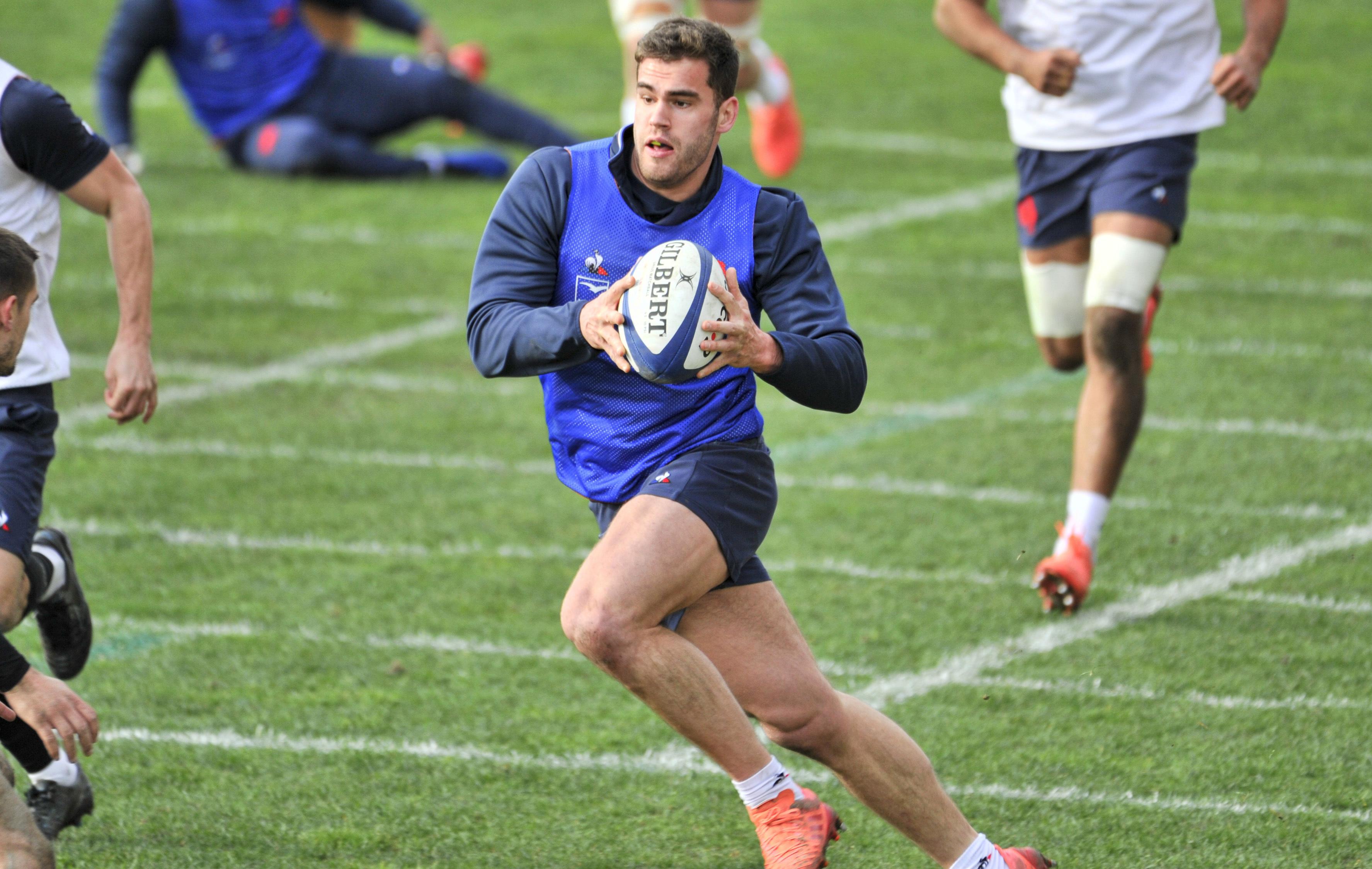 Rugby - 6 Nations - XV de France : Penaud forfait pour le Crunch et remplacé par Rattez