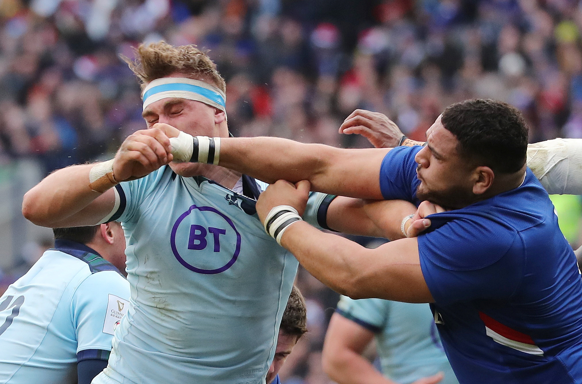 Rugby - 6 Nations - XV de France: Haouas finalement suspendu trois semaines pour son coup de poing