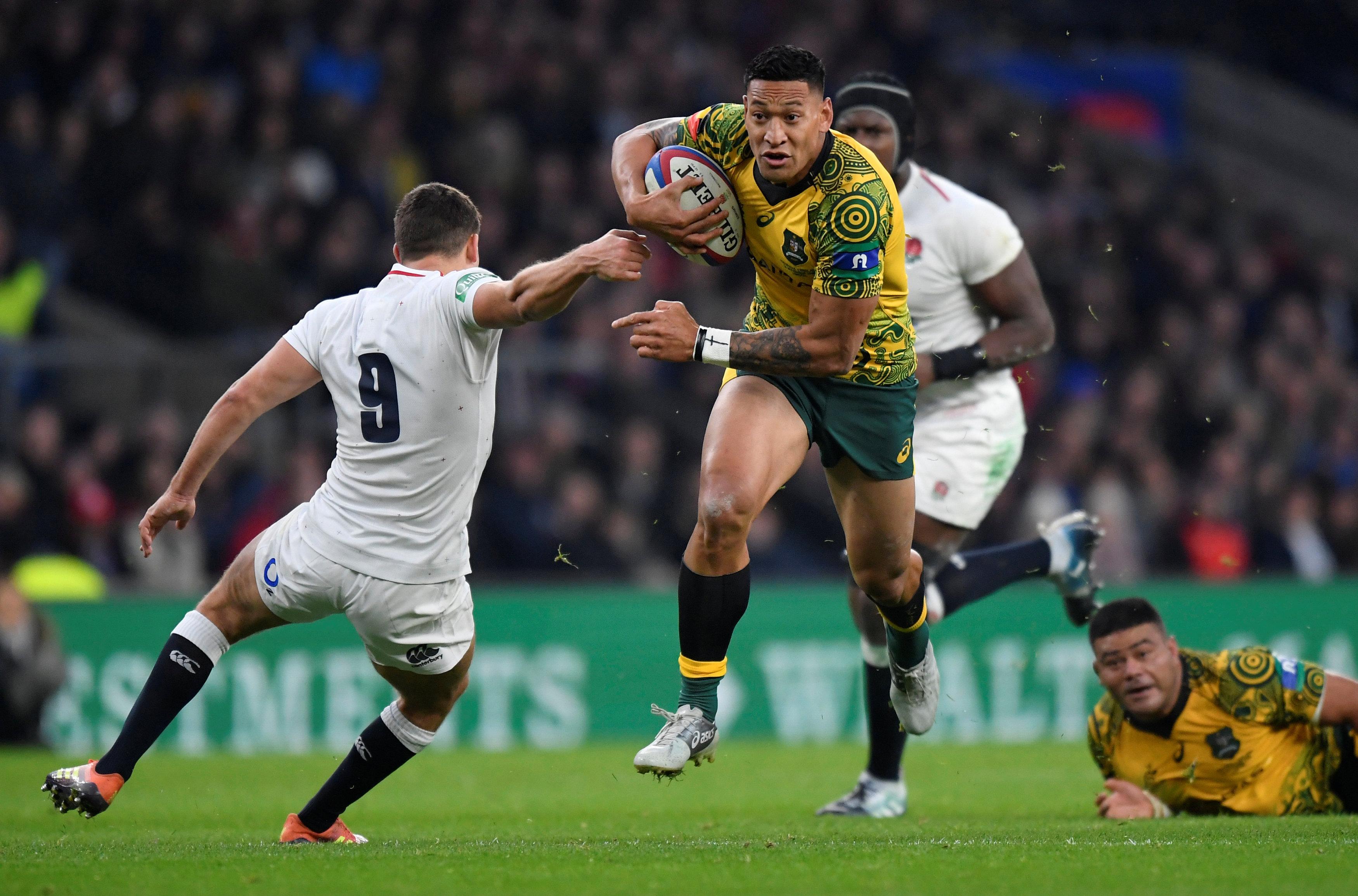 Rugby - Affaire Folau : le rugby australien va étudier la question de l'expression religieuse