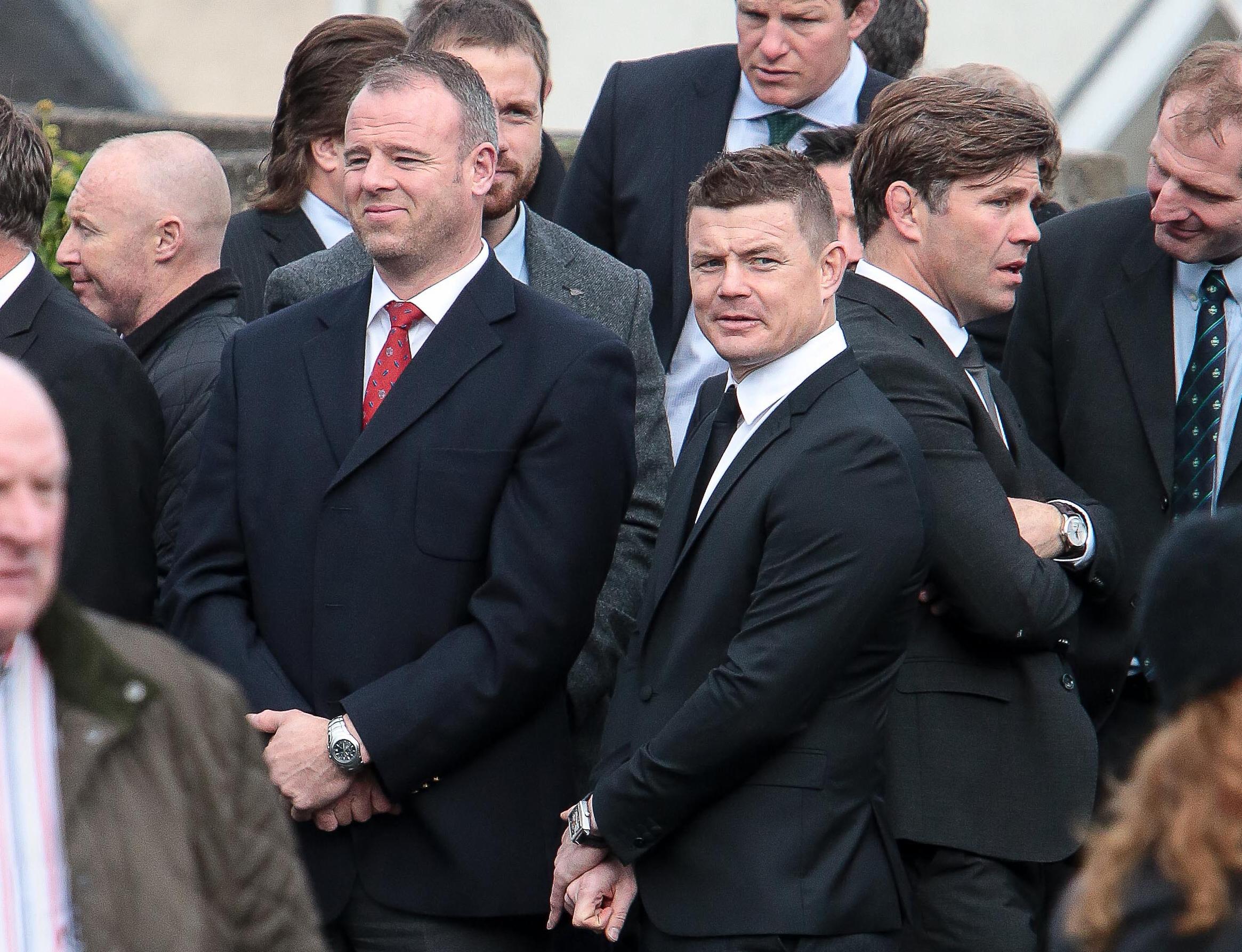 Rugby - Le dernier hommage du rugby irlandais à Anthony Foley