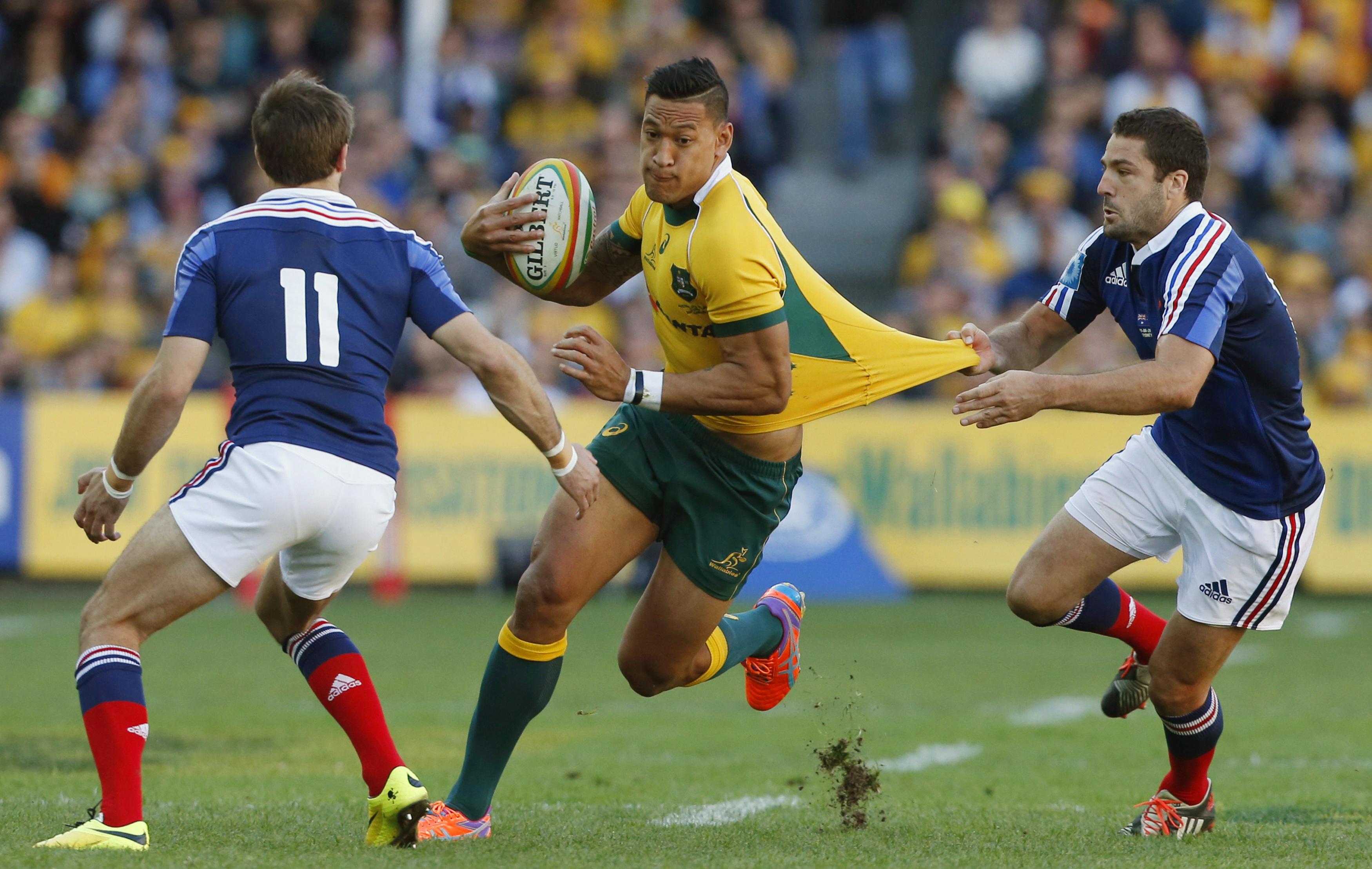 Rugby - Le phénomène Folau débarque en France