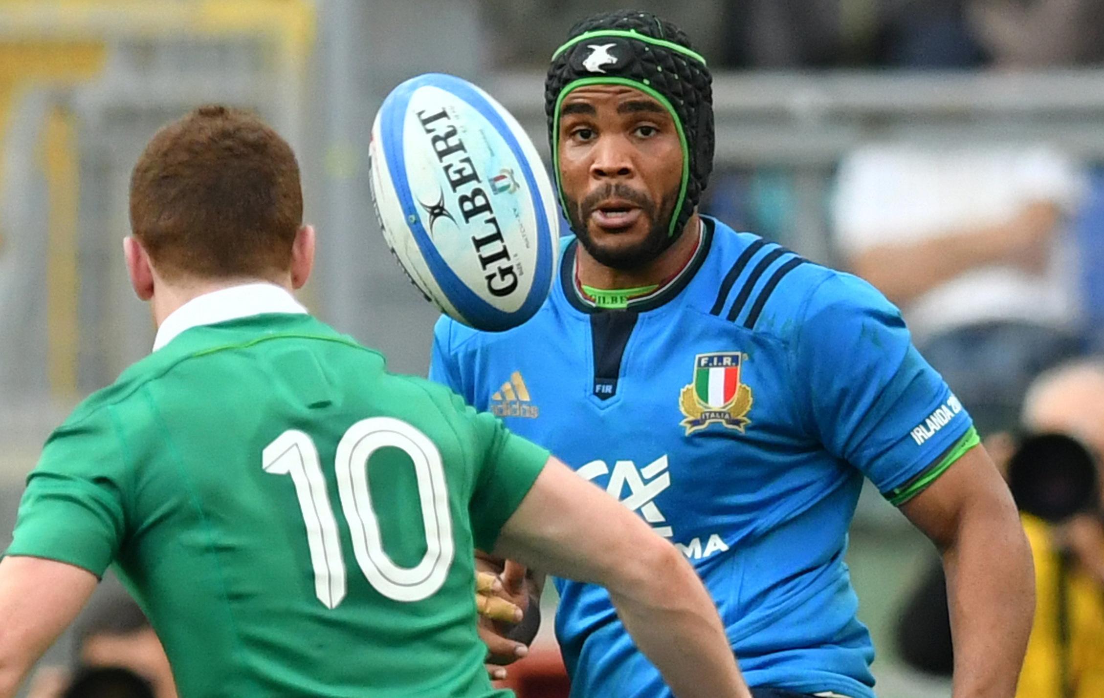 Rugby - Rugby : ambulancier volontaire pendant la crise, l'Italien Mbanda fait chevalier de l'ordre du Mérite