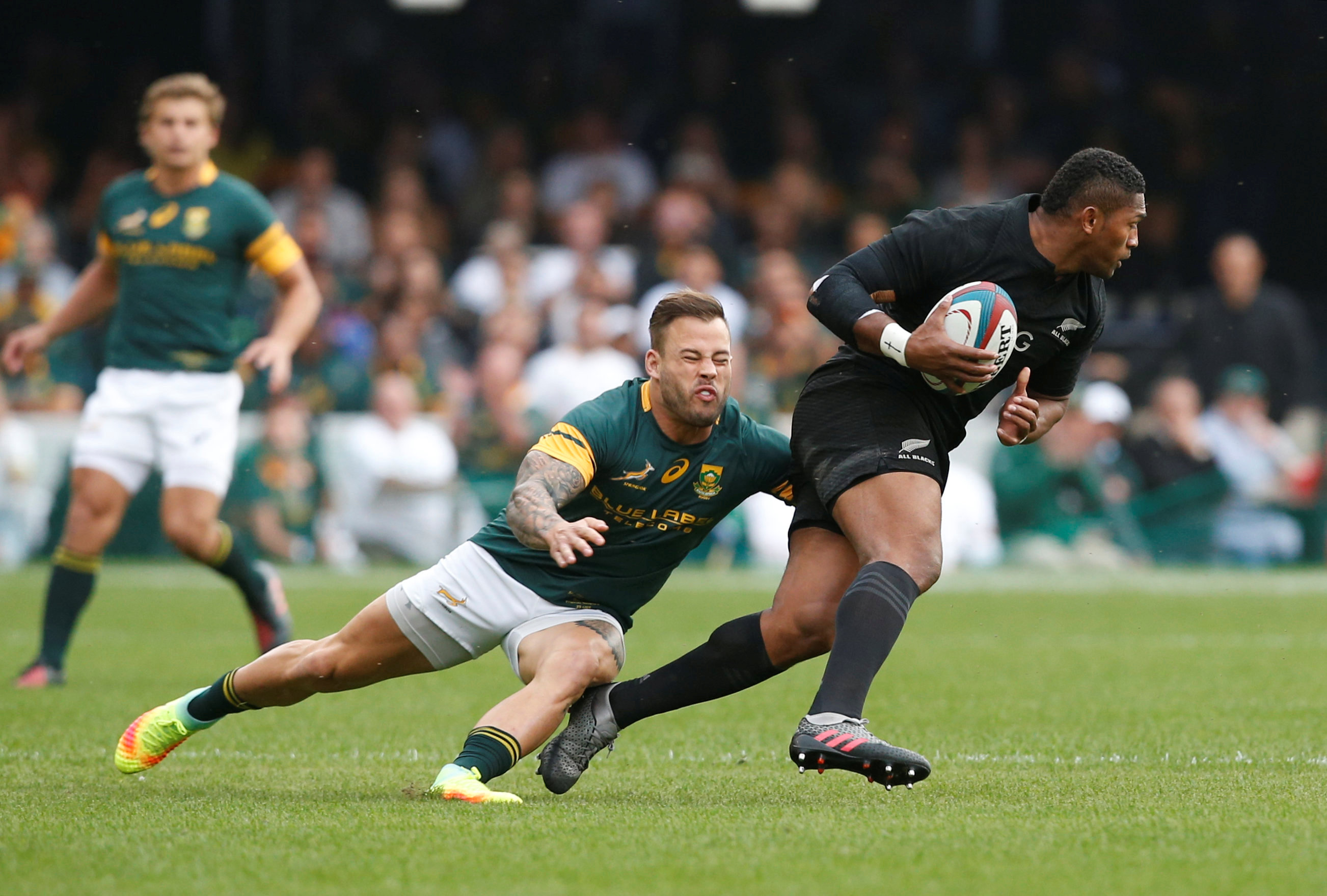 Rugby - Les All Blacks humilient l'Afrique du Sud et égalent un record