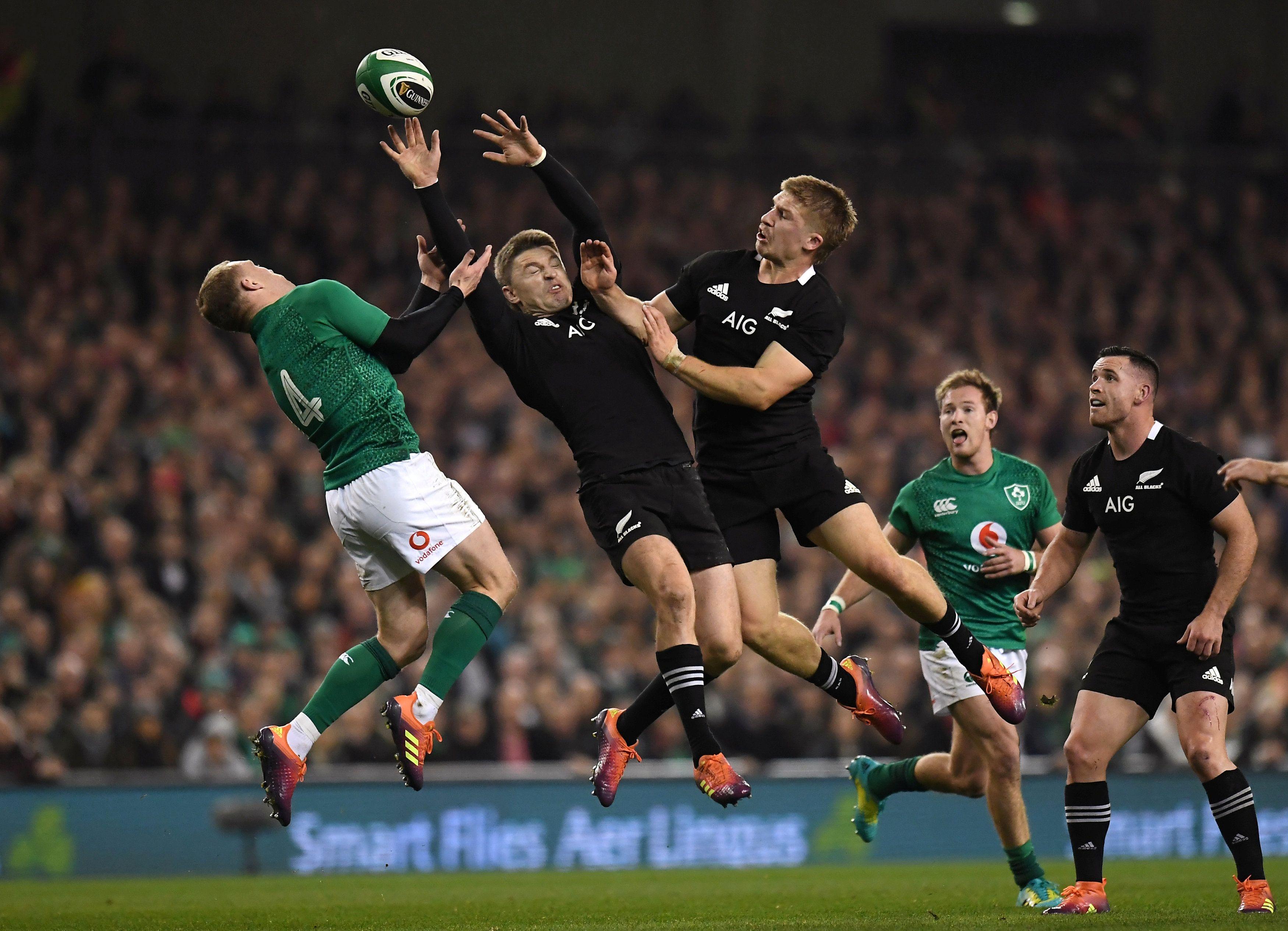 Rugby - Blessée par un ballon lors du match Irlande-All Blacks, une spectatrice porte plainte