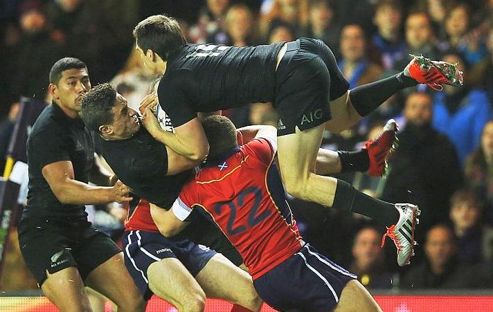 Rugby - L'Ecosse a fait trembler les Blacks