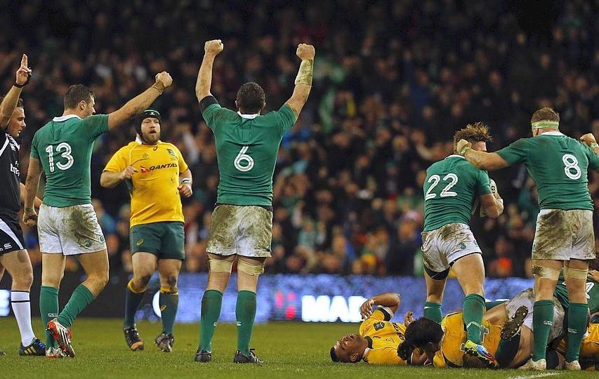 Rugby - L'Irlande enfonce l'Australie
