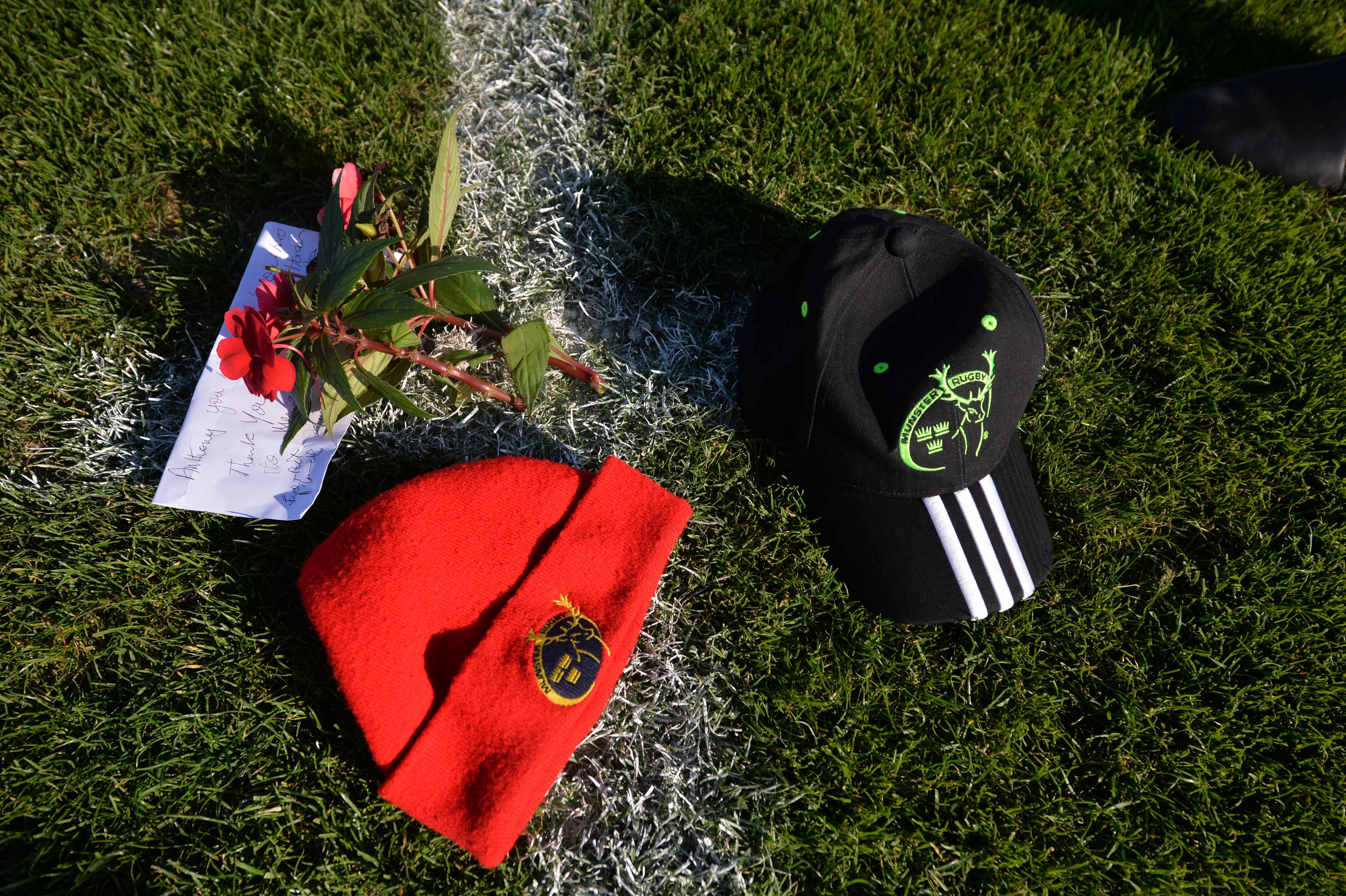 Rugby - L'Irlande entière rend hommage à Anthony Foley