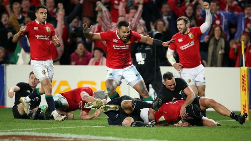 Rugby - Le superbe essai des Lions britanniques contre les All Blacks