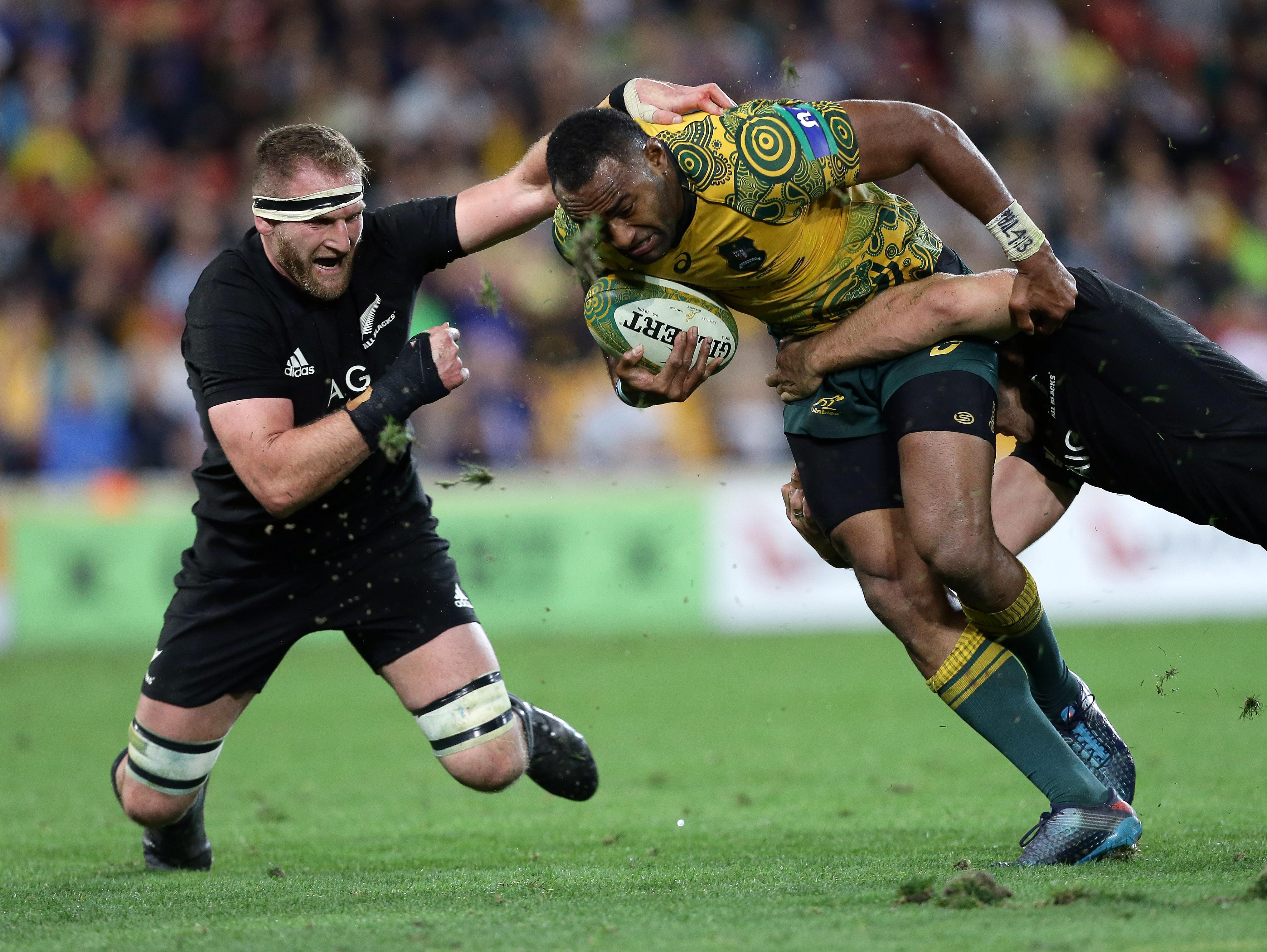 Rugby - Le XV australien jouera avec un maillot aux décorations aborigènes