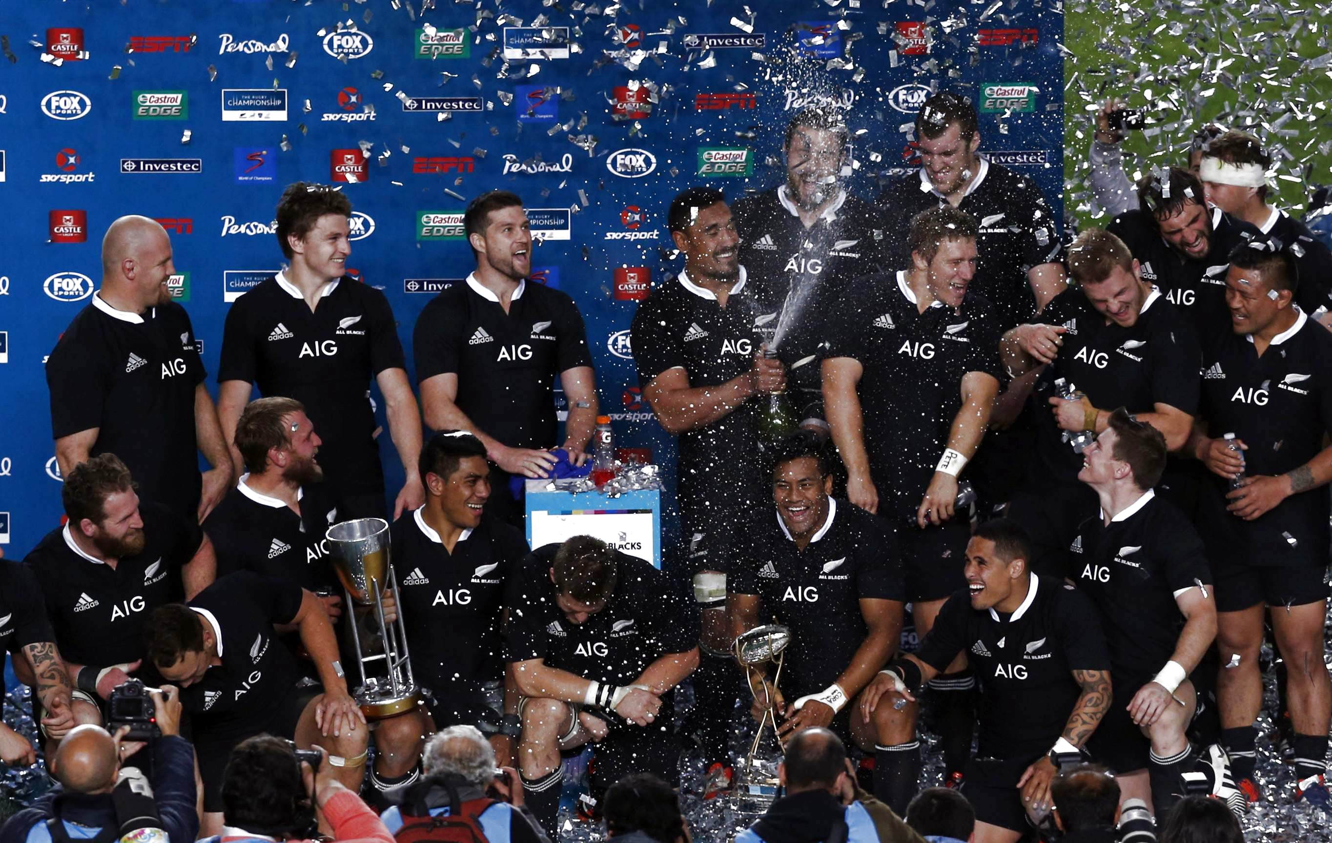 Rugby - Toujours irrésistibles ces All Blacks