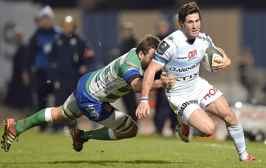 Rugby - Coupe d'Europe - Machenaud : «Marquer l'histoire du Racing»