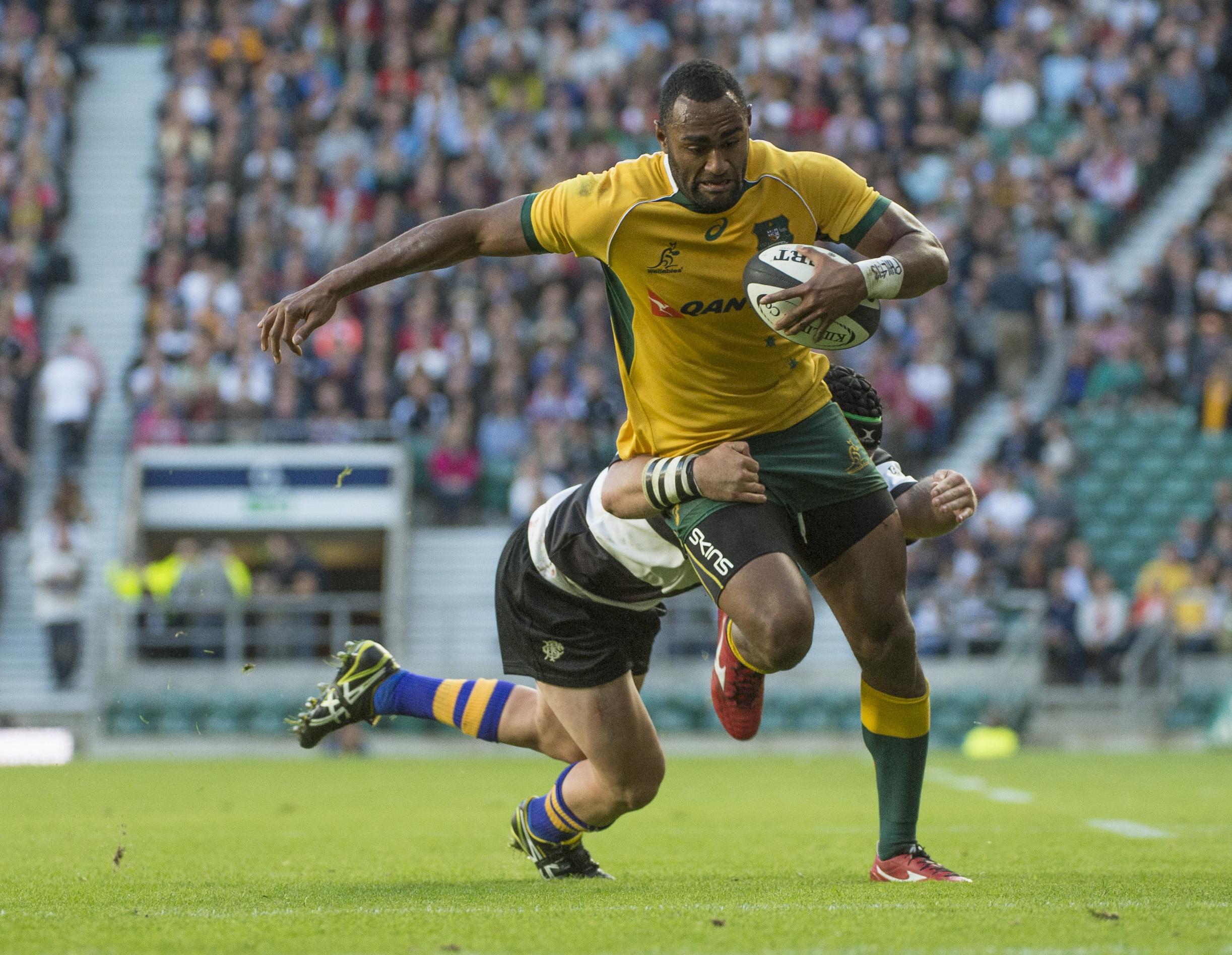 Australie fidji une affaire de familles pour kuridrani - Resultats coupe du monde de rugby 2015 ...