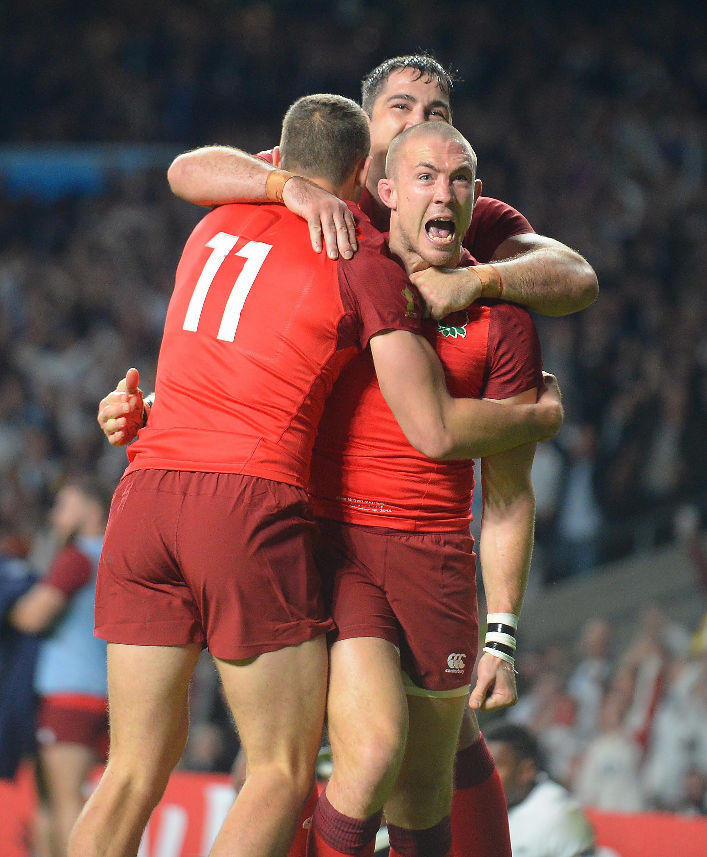 L angleterre d marre poussivement coupe du monde 2015 rugby - Resultats coupe du monde 2015 rugby ...