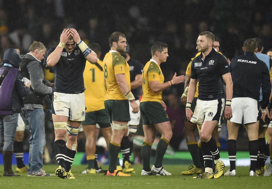 L 39 australie vite la douche cossaise de justesse coupe du monde 2015 rugby - Resultats coupe du monde 2015 rugby ...