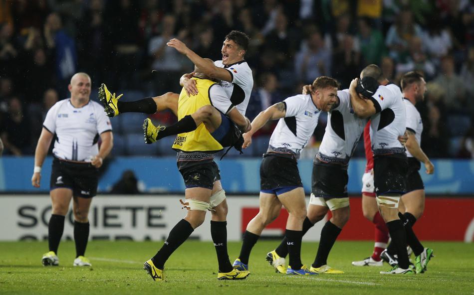 Rugby - Coupe du monde 2015 - La Roumanie s'accroche et renverse le Canada