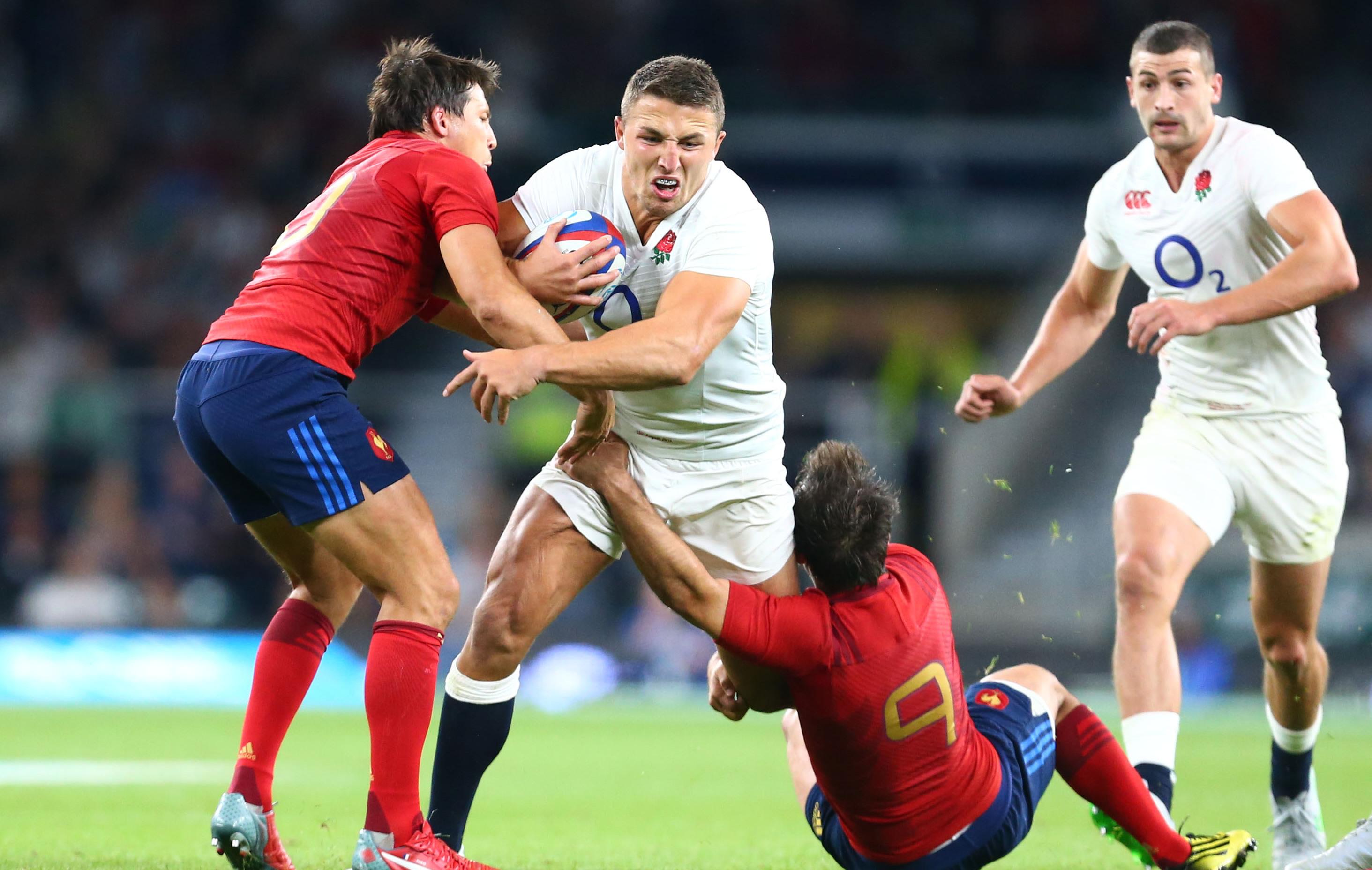 Le xv de la rose avec burgess sans cipriani coupe du - Resultats coupe du monde de rugby 2015 ...