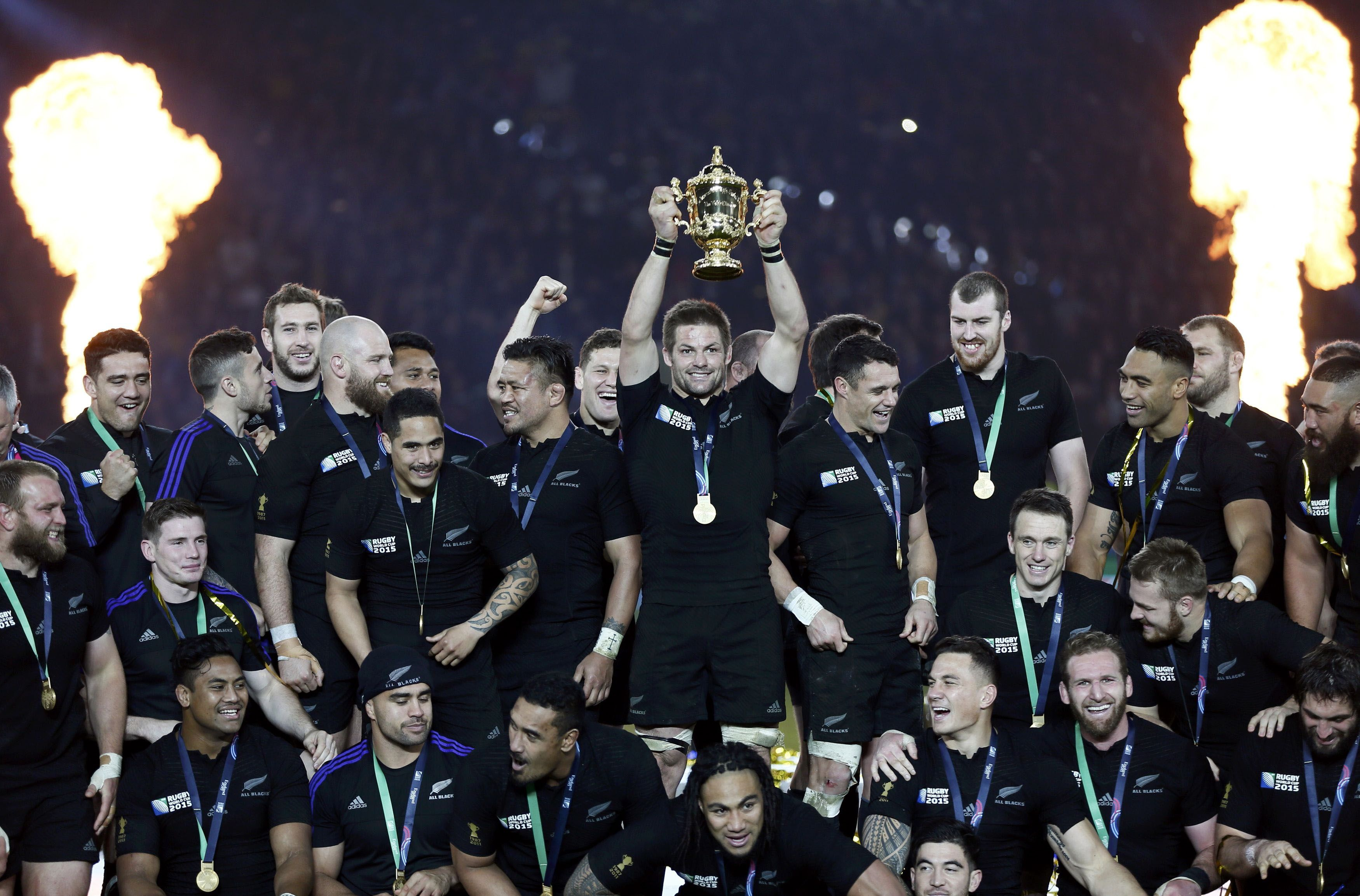Les all blacks d finitivement seuls au sommet de la - Resultats coupe du monde de rugby 2015 ...
