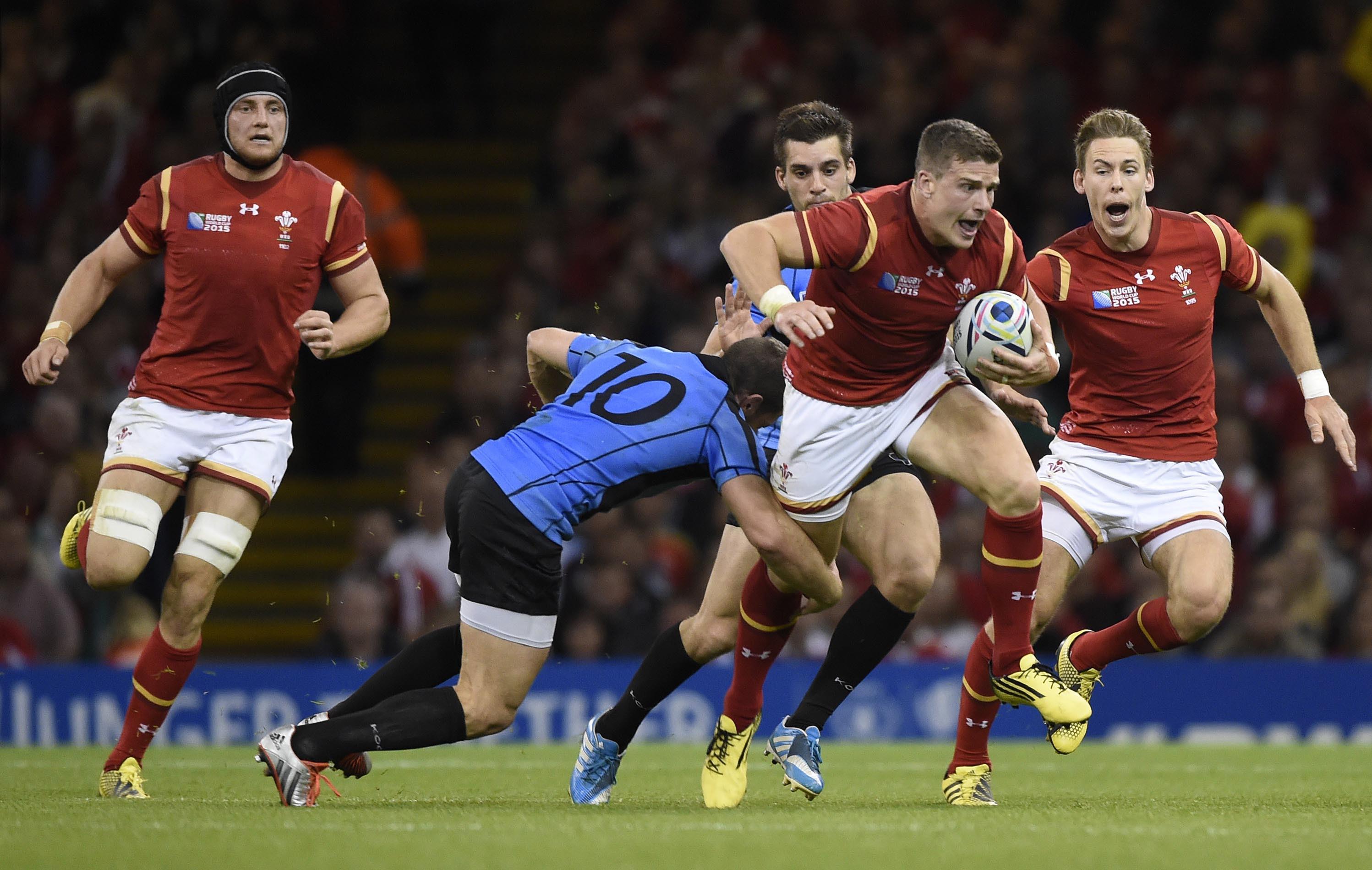 Les gallois d roulent les samoa assurent coupe du monde 2015 rugby - Resultats coupe du monde 2015 rugby ...