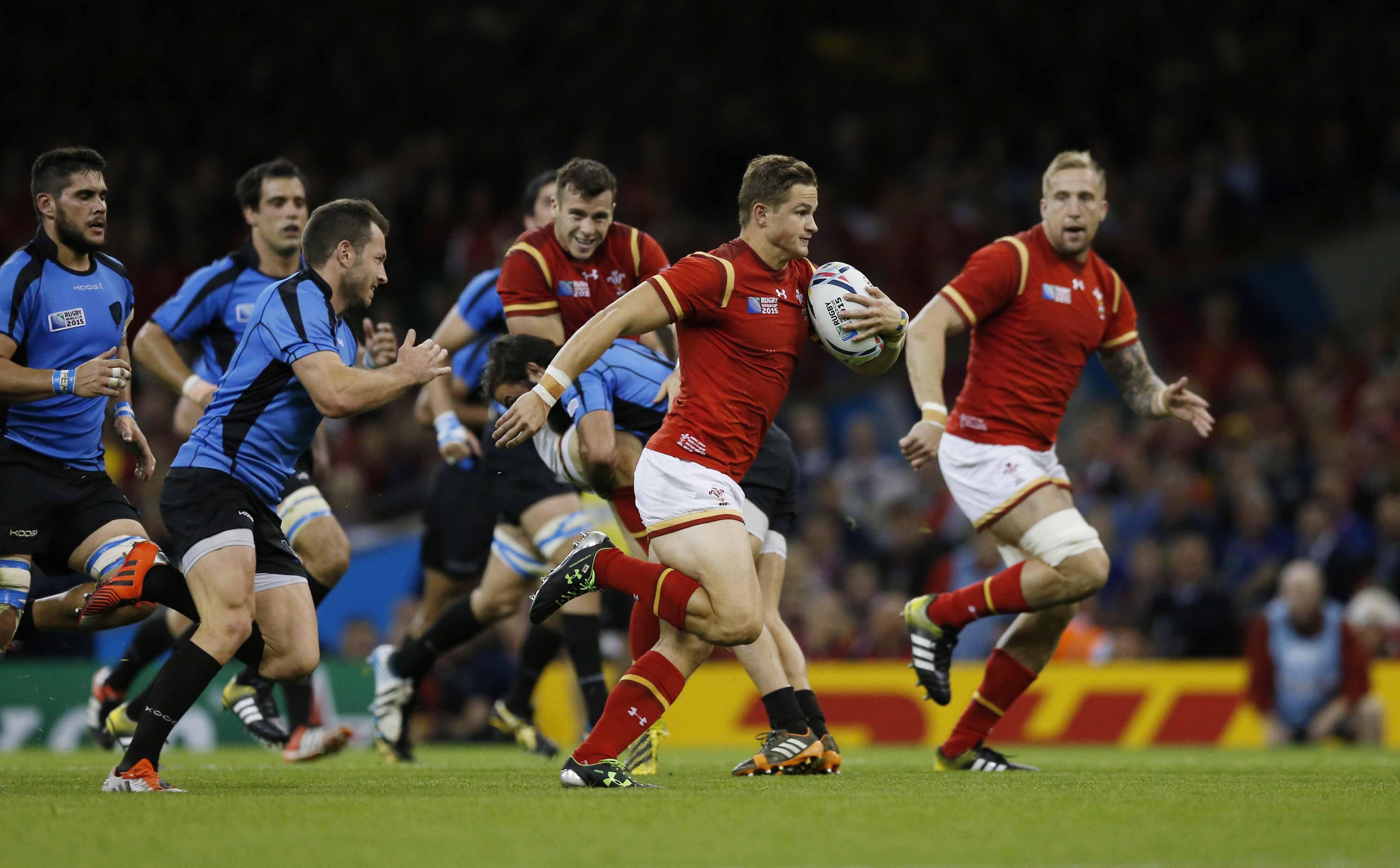 Les gallois m me sur une jambe veulent pi tiner le - Resultats coupe du monde de rugby 2015 ...