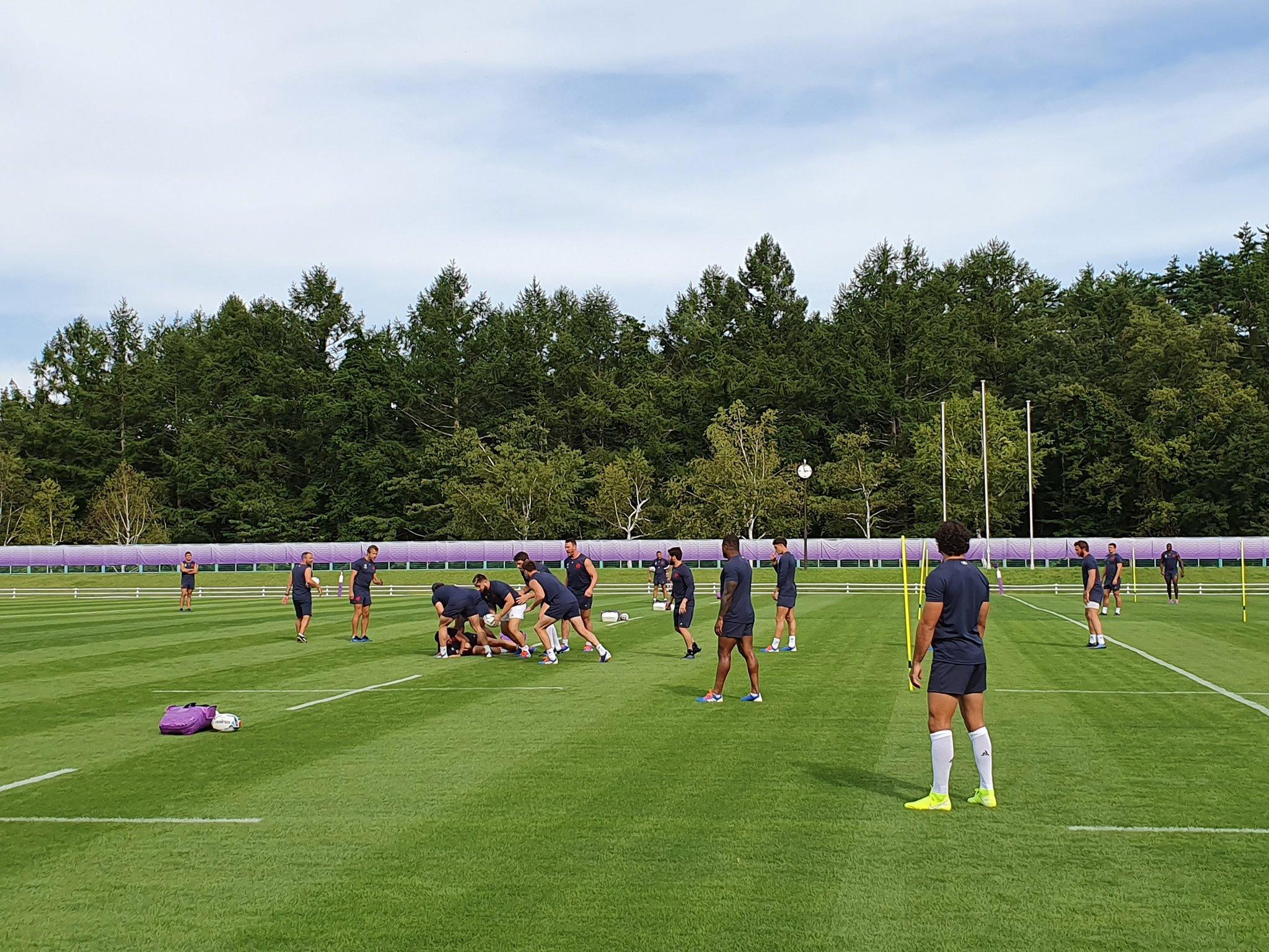 Rugby - Coupe du monde 2019 - Au Japon, le XV de France bataille contre le temps