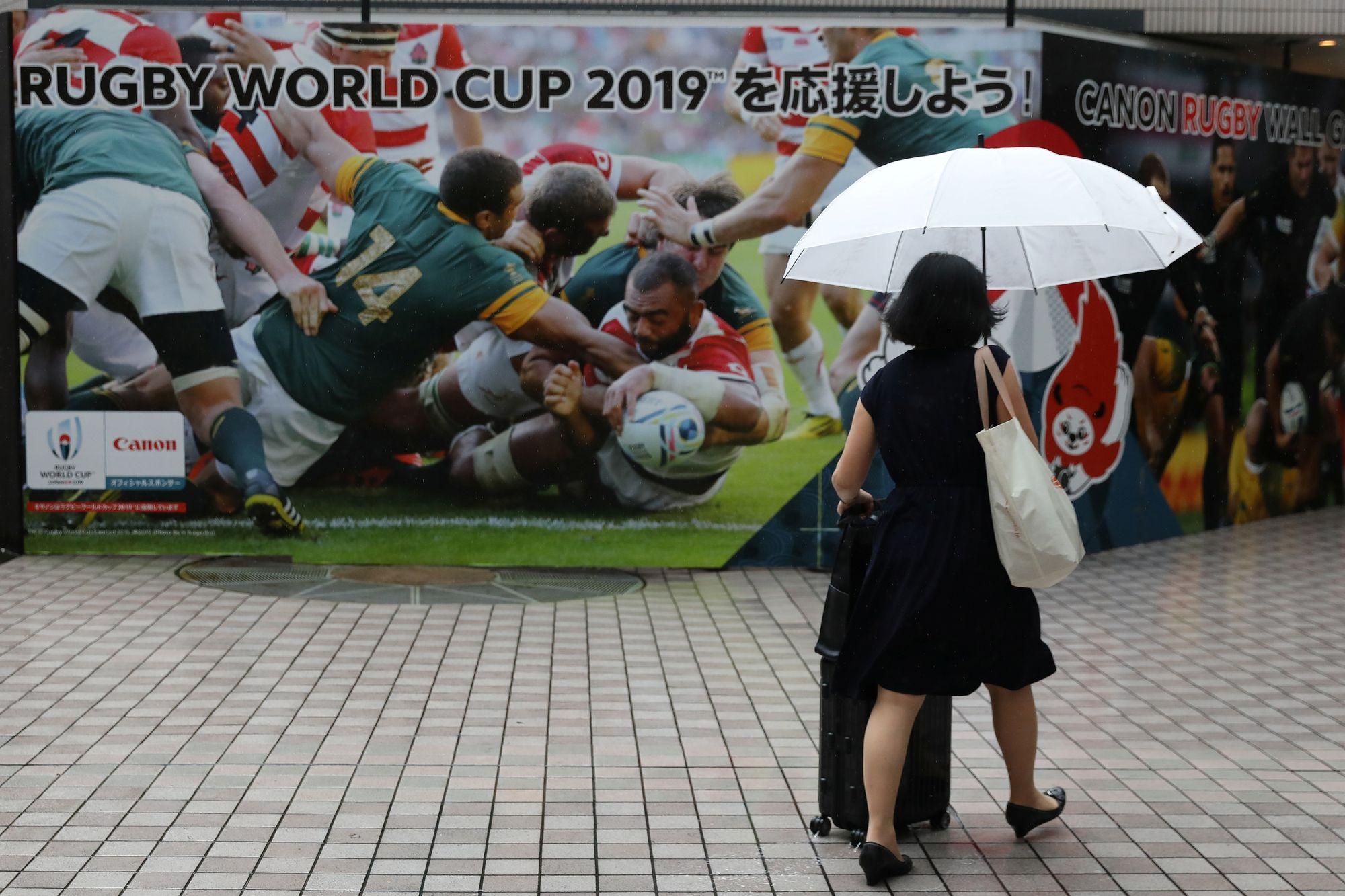 Rugby - Coupe du monde 2019 - Coupe du monde de rugby : Japon-Ecosse va se jouer ce dimanche
