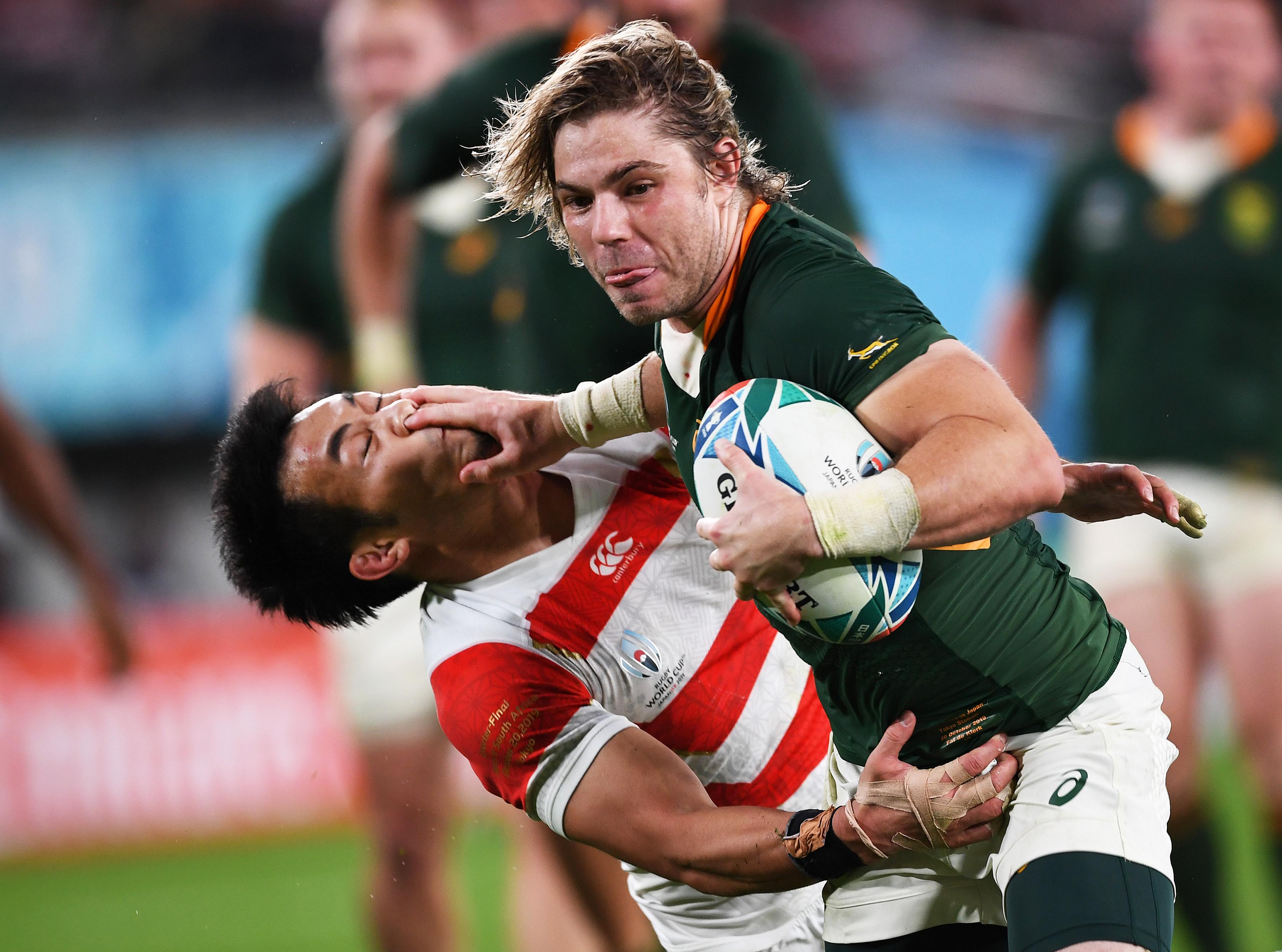 Rugby - Coupe du monde 2019 - Coupe du monde : Faf de Klerk, le «Jack Russell» des Springboks