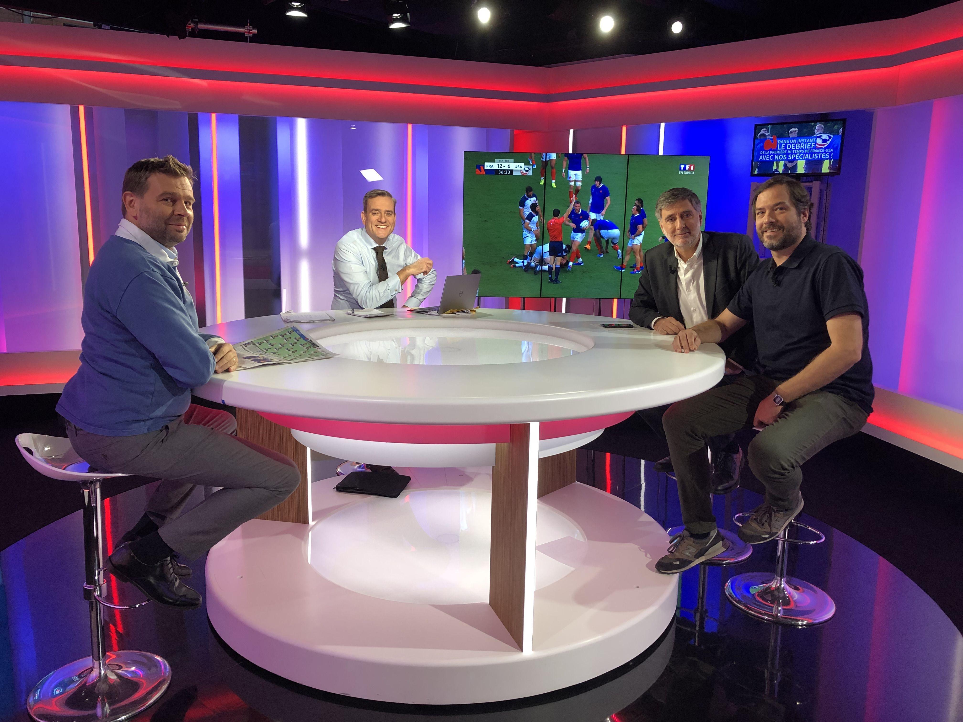 Rugby - Coupe du monde 2019 - Coupe du monde : le débrief' de France-Etats-Unis à la pause