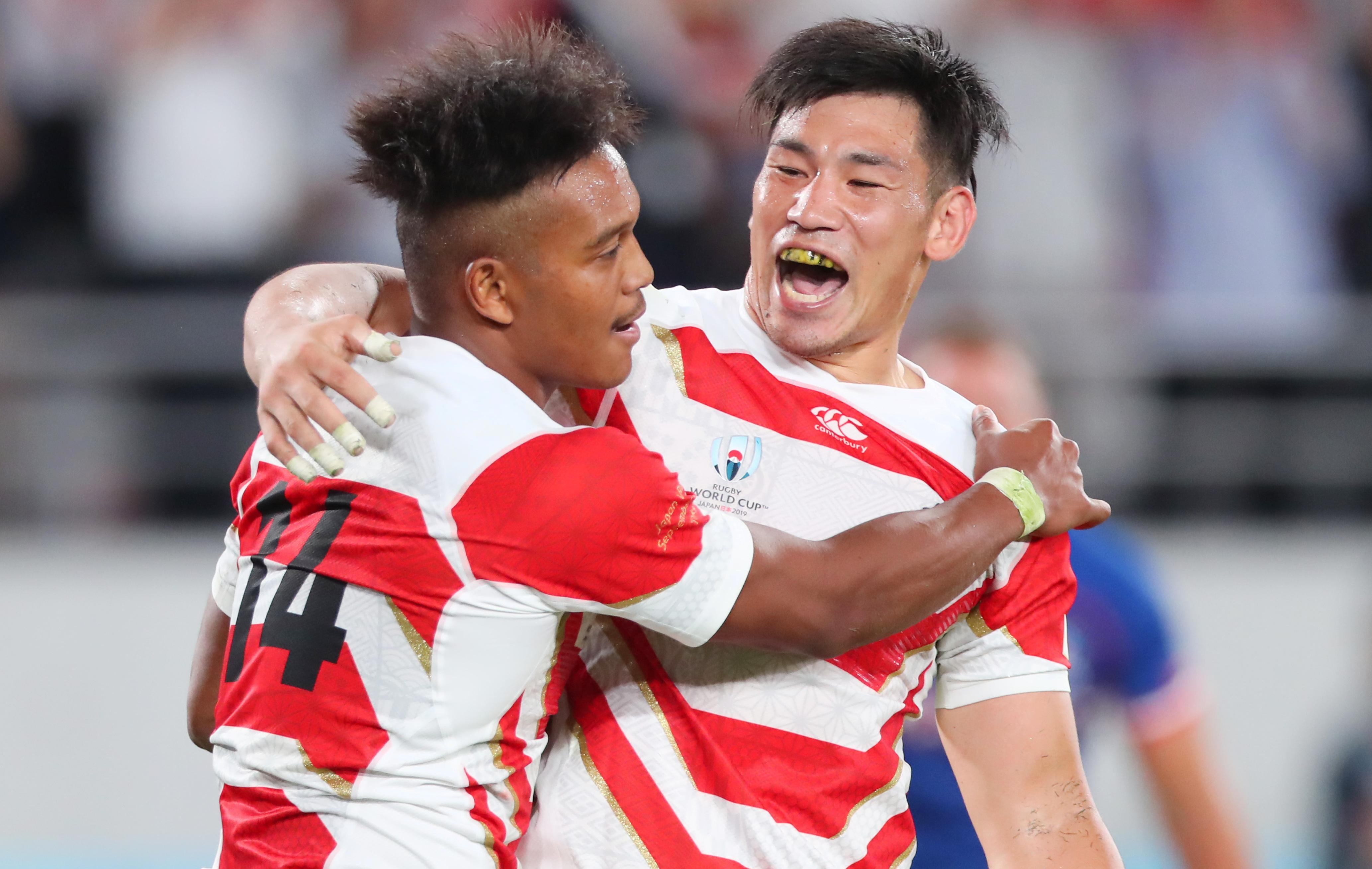 Rugby - Coupe du monde 2019 - Coupe du monde : le résumé de la victoire du Japon sur la Russie en vidéo