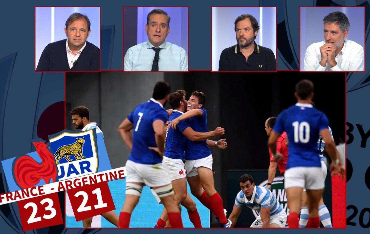 Rugby - Coupe du monde 2019 - France-Argentine : le debrief de la victoire des Bleus