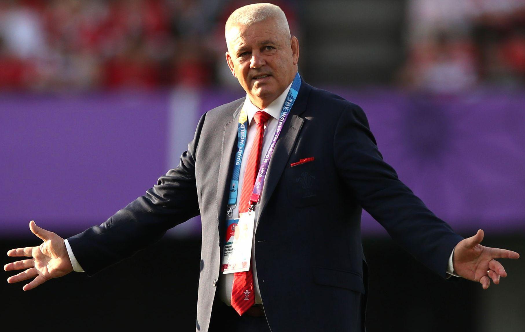 Rugby - Coupe du monde 2019 - Gatland : «Je suis plus confiant qu'avant d'affronter la France»