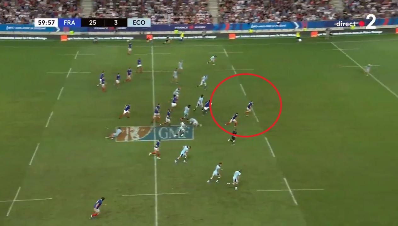 Rugby - Coupe du monde 2019 - L'énorme percée de Penaud et tous les essais français contre l'Ecosse en vidéo