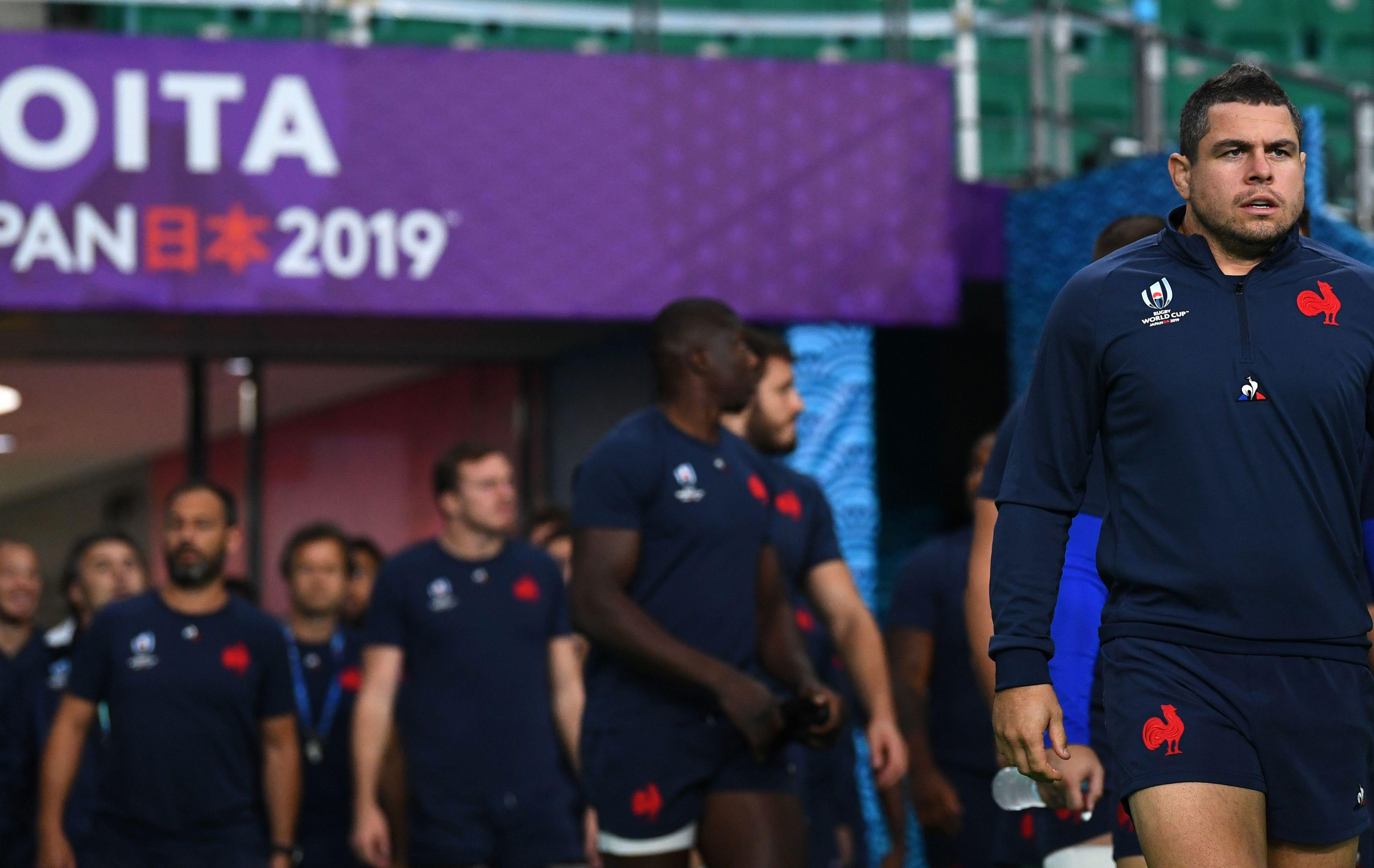 Rugby - Coupe du monde 2019 - La conf' des capitaines du XV de France : «On aborde ce quart avec beaucoup d'appréhension»