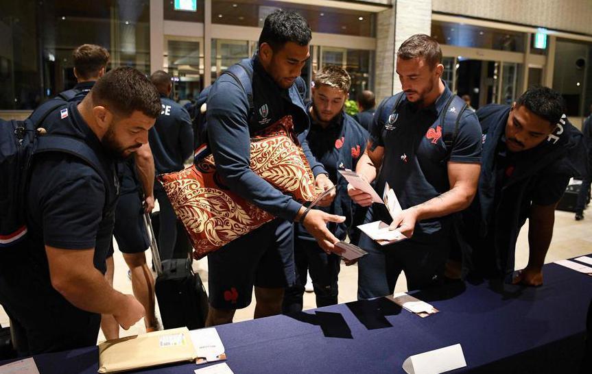 Rugby - Coupe du monde 2019 - Le XV de France a pris ses quartiers au Japon