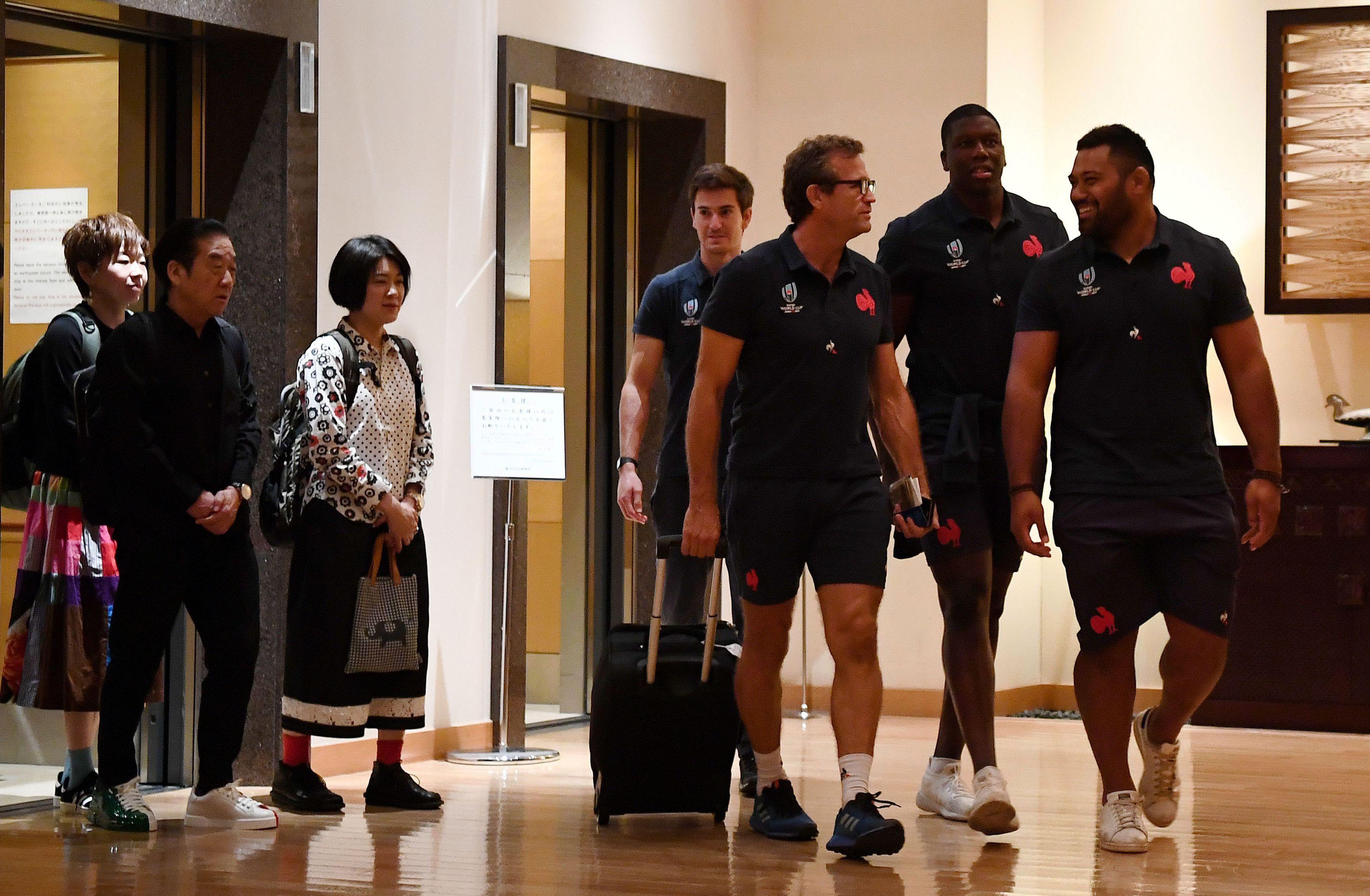 Rugby - Coupe du monde 2019 - Entraînement à huis clos, silence média : le XV de France se calfeutre