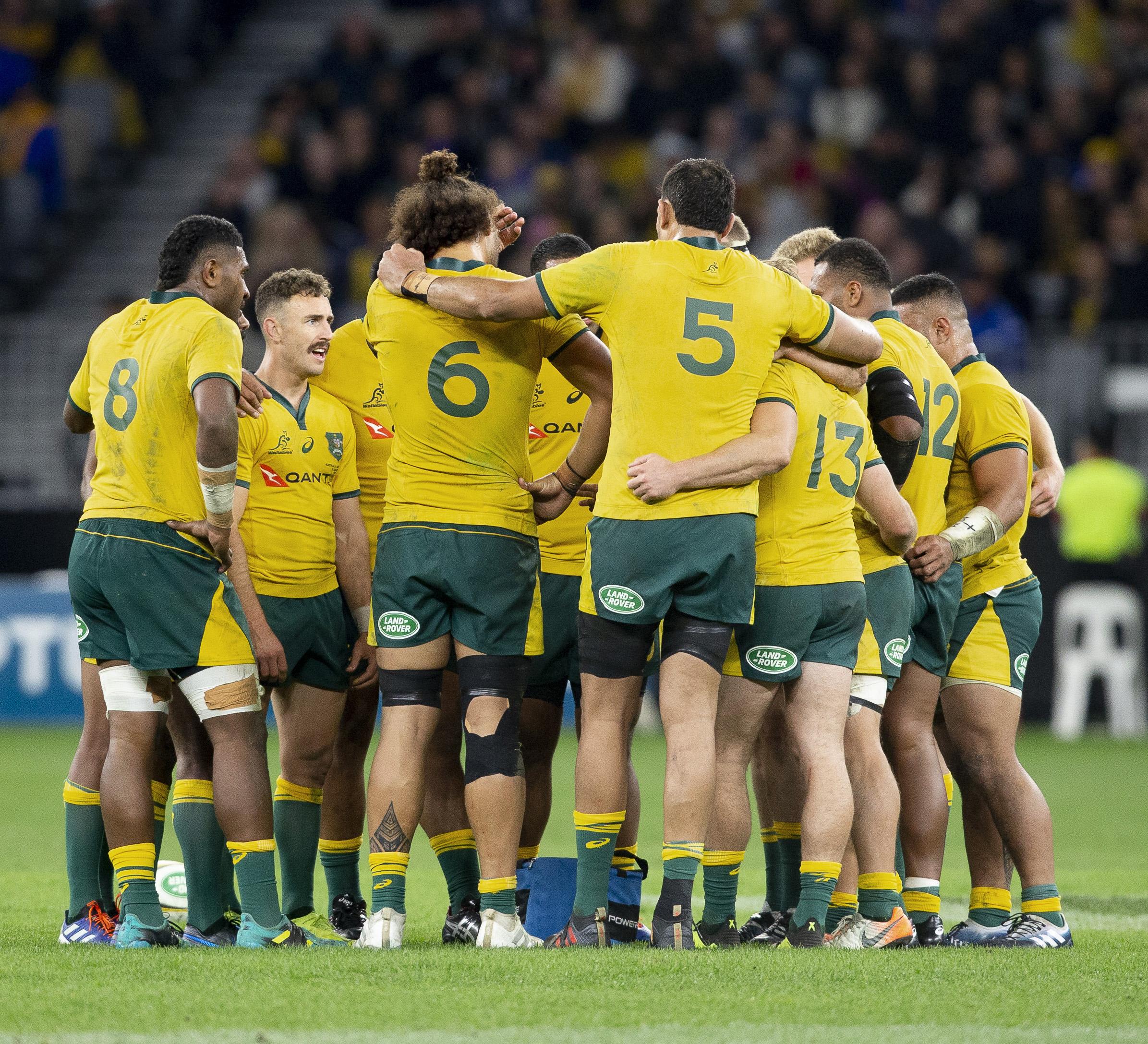 Rugby - Coupe du monde 2019 - Les Australiens préparent la Coupe du monde à Nouméa